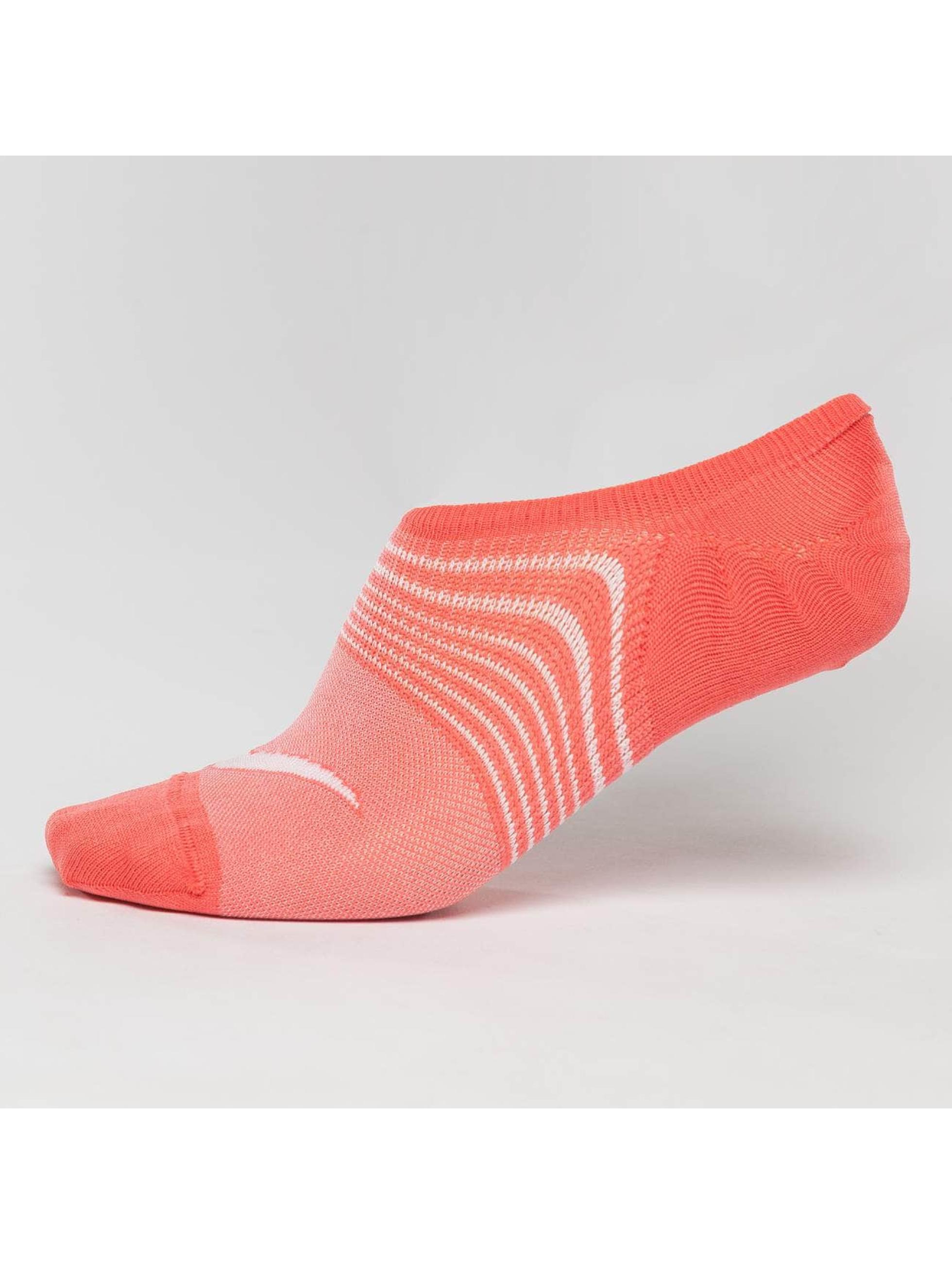 Nike Performance Chaussettes Everyday Plus Lightweight Training 3 Pack Footie orange