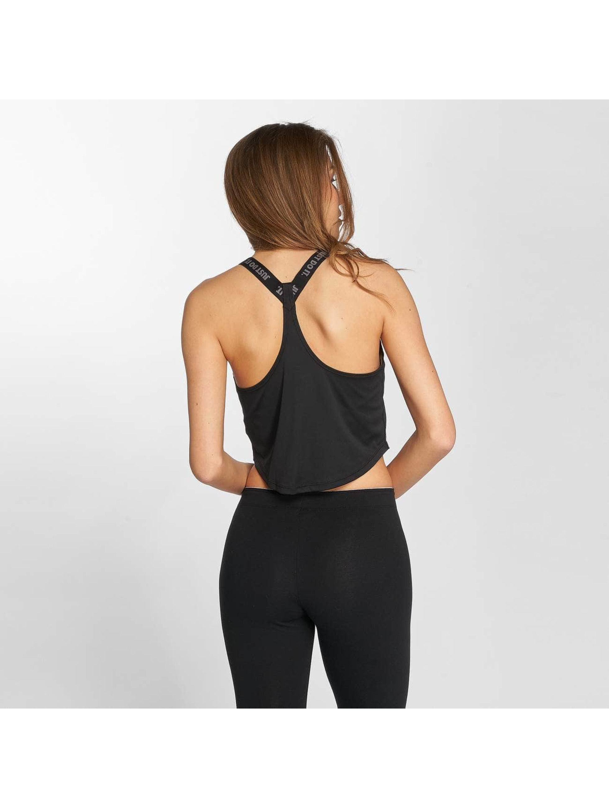 Nike Performance Hihattomat paidat Dry Top musta