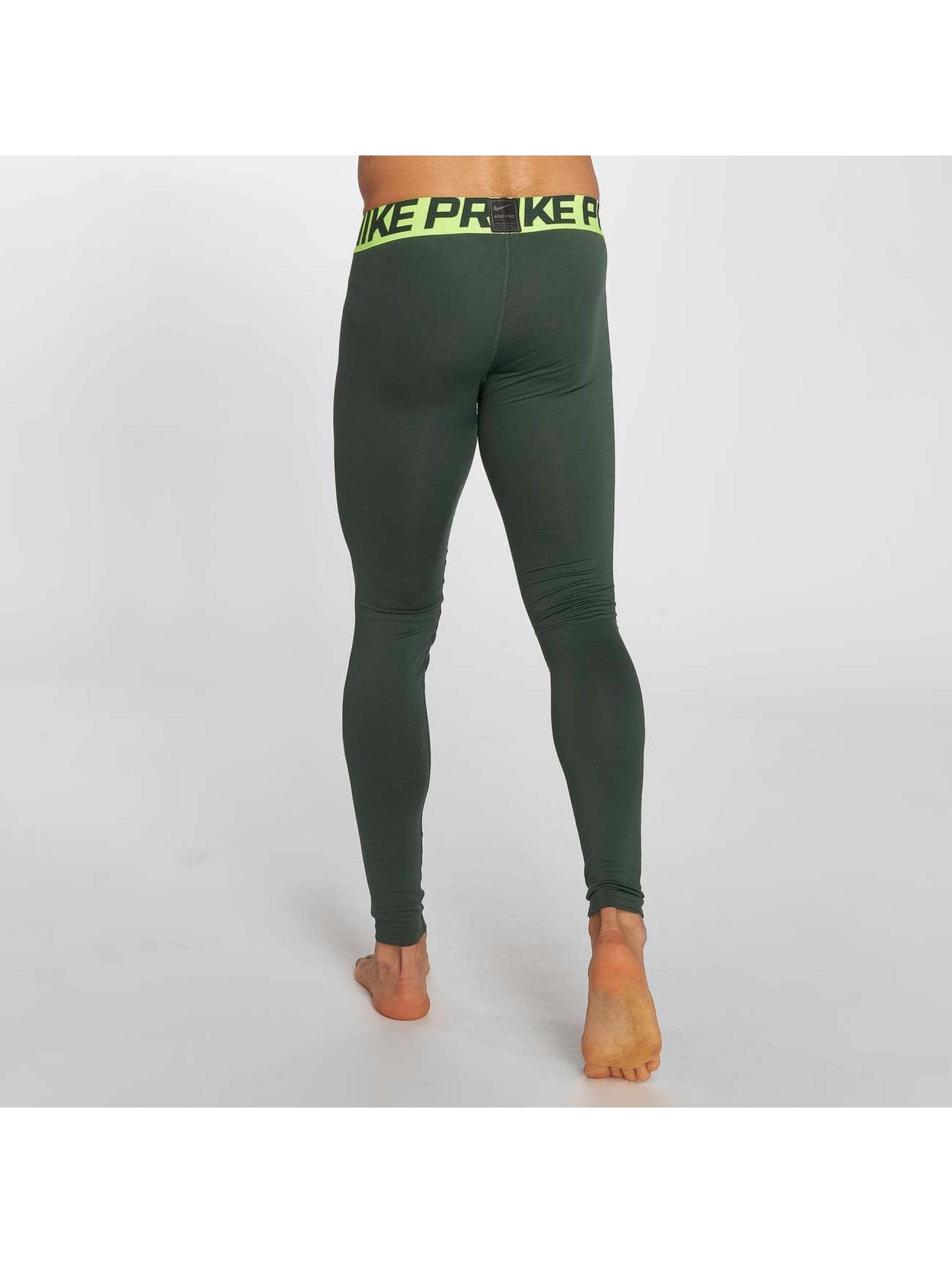 Nike Performance Legging/Tregging Pro Warm oliva