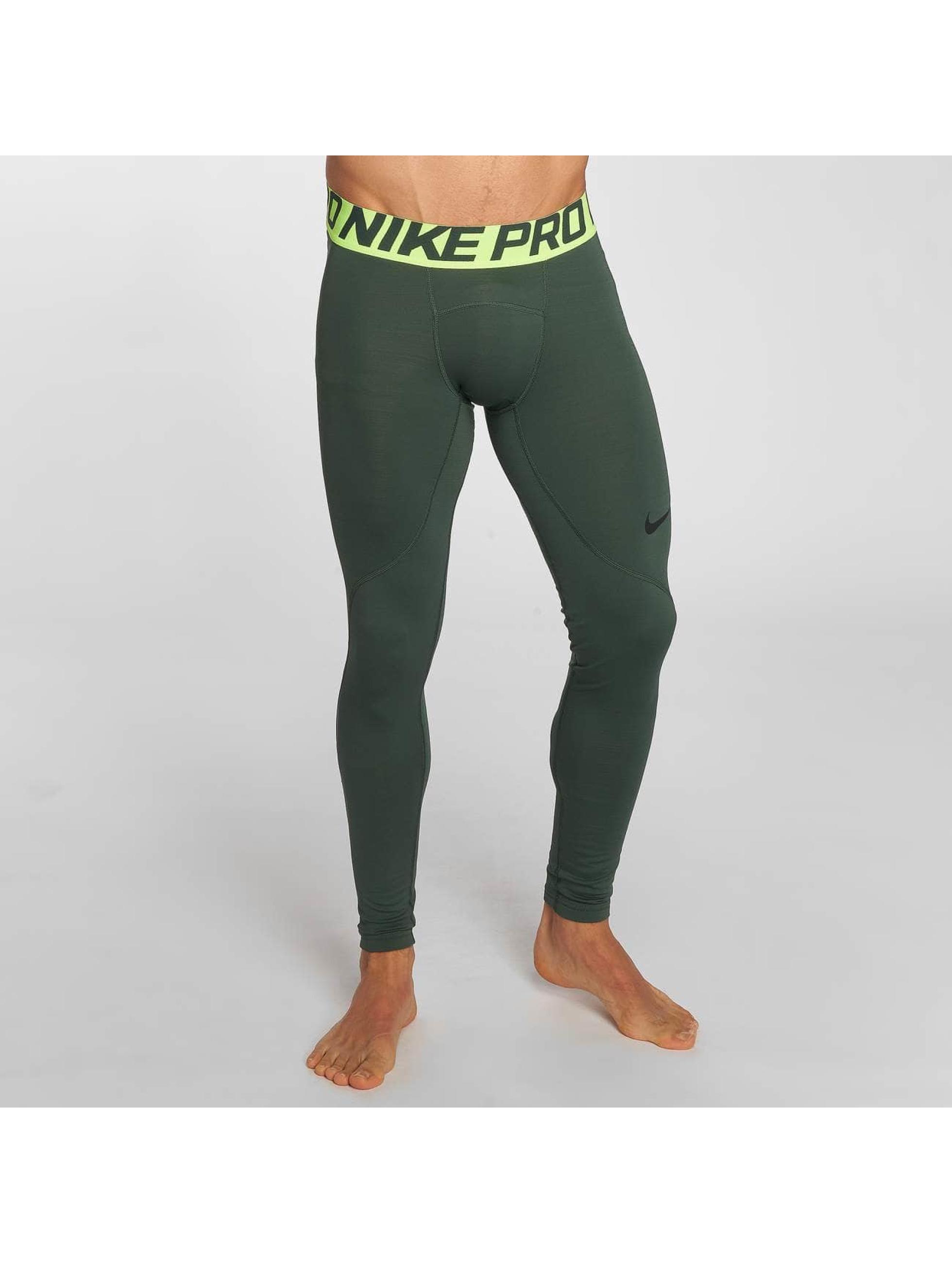 Nike Performance Leggings Pro Warm oliv