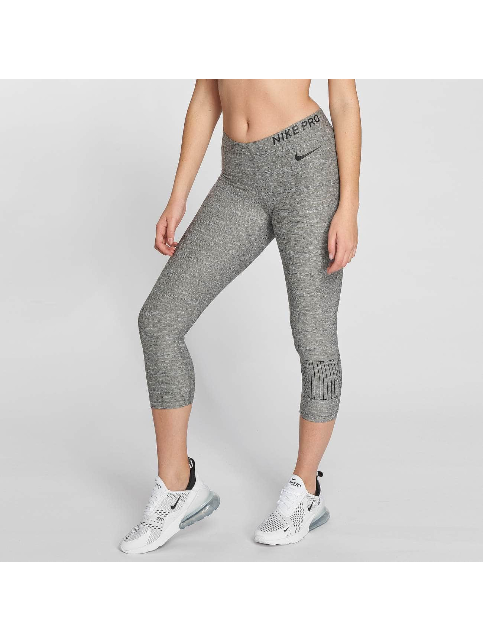 Nike Performance Leggings/Treggings Pro Capri szary