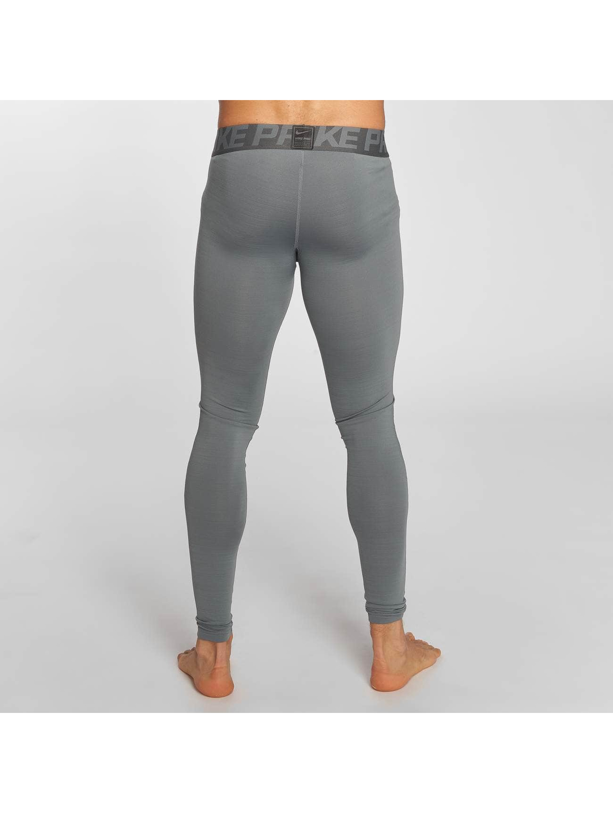 Nike Performance Leggings/Treggings Pro Warm szary