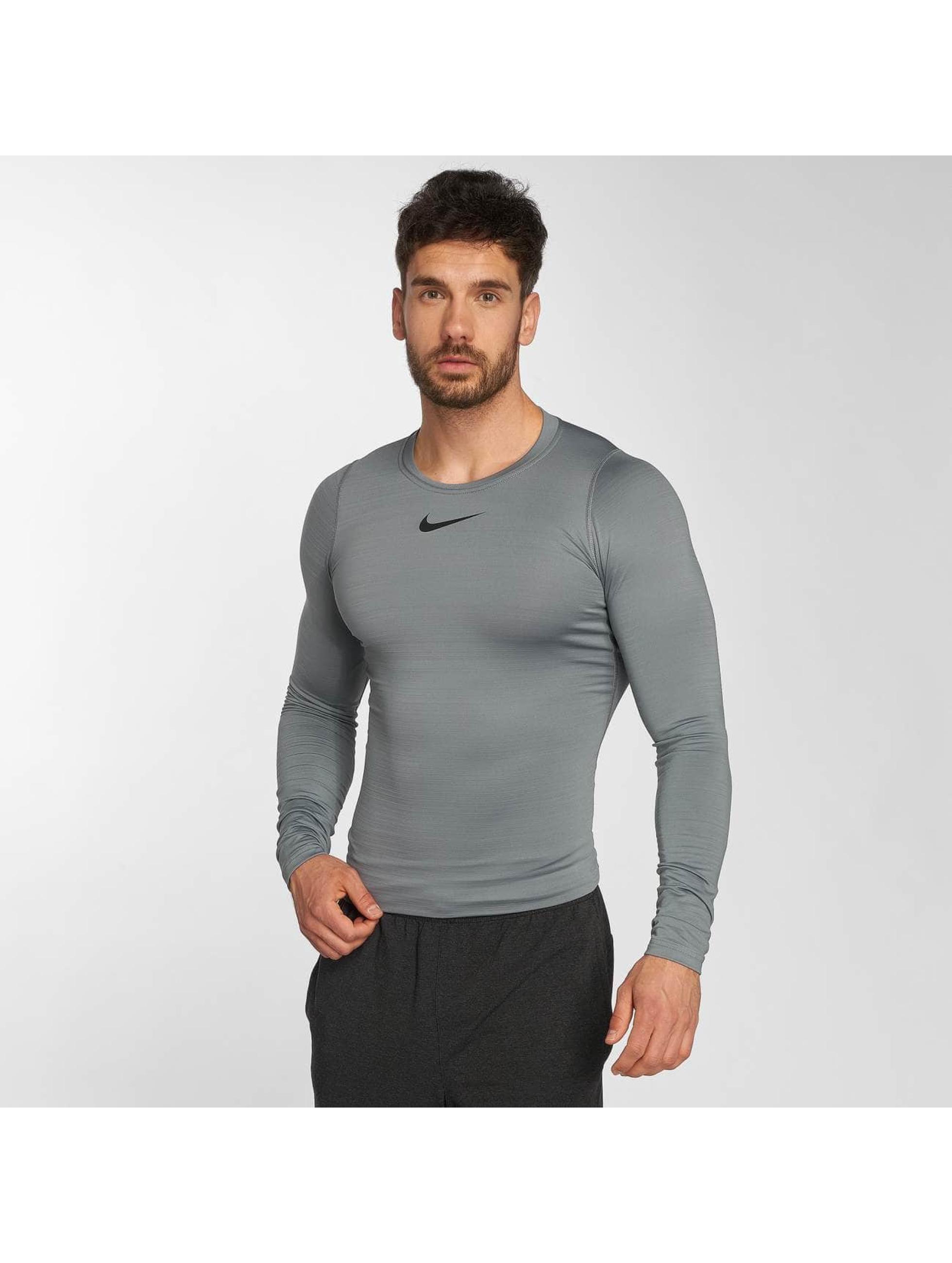 Nike Performance Longsleeve Pro Warm grau