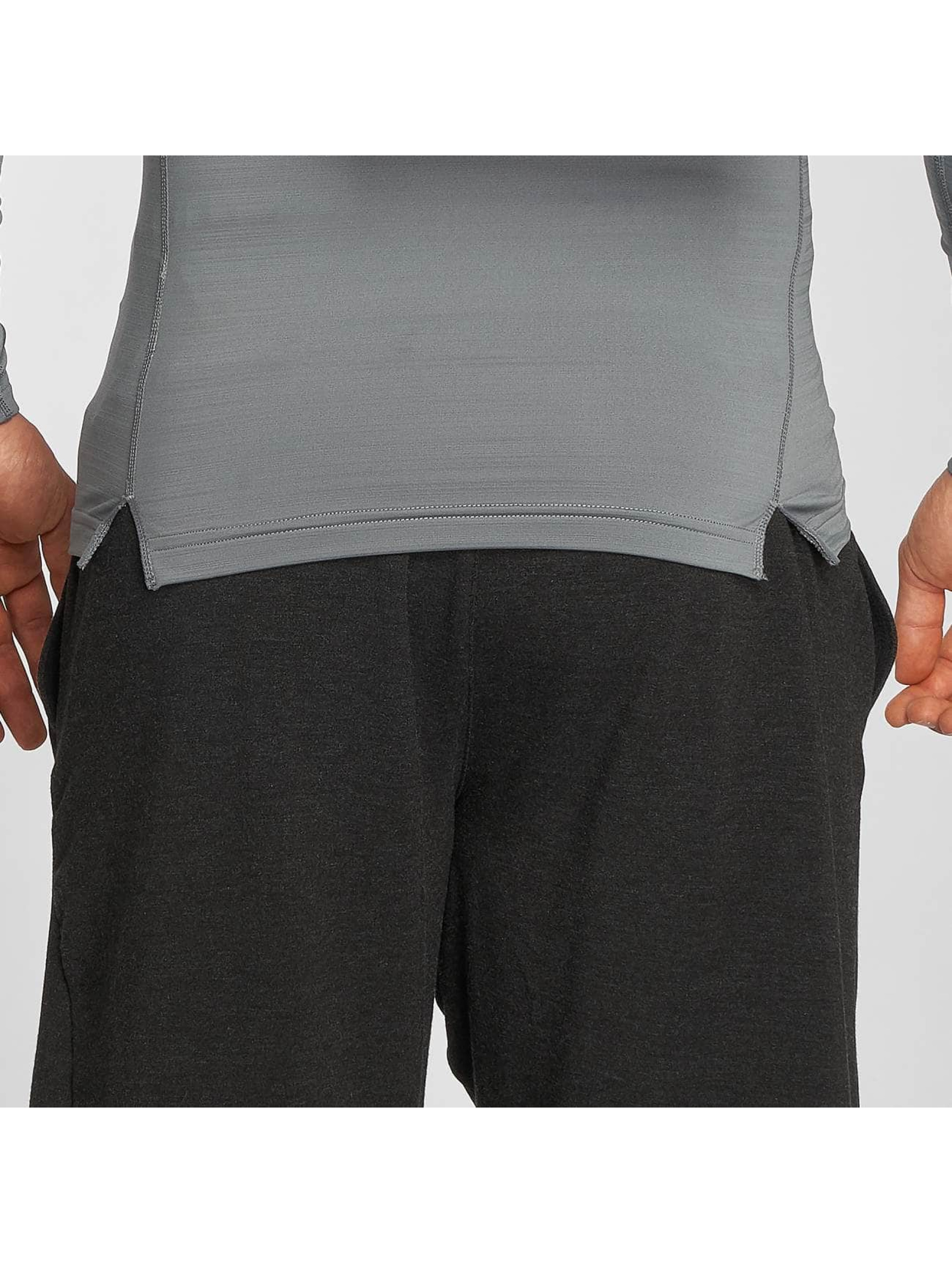 Nike Performance Pitkähihaiset paidat Pro Warm harmaa