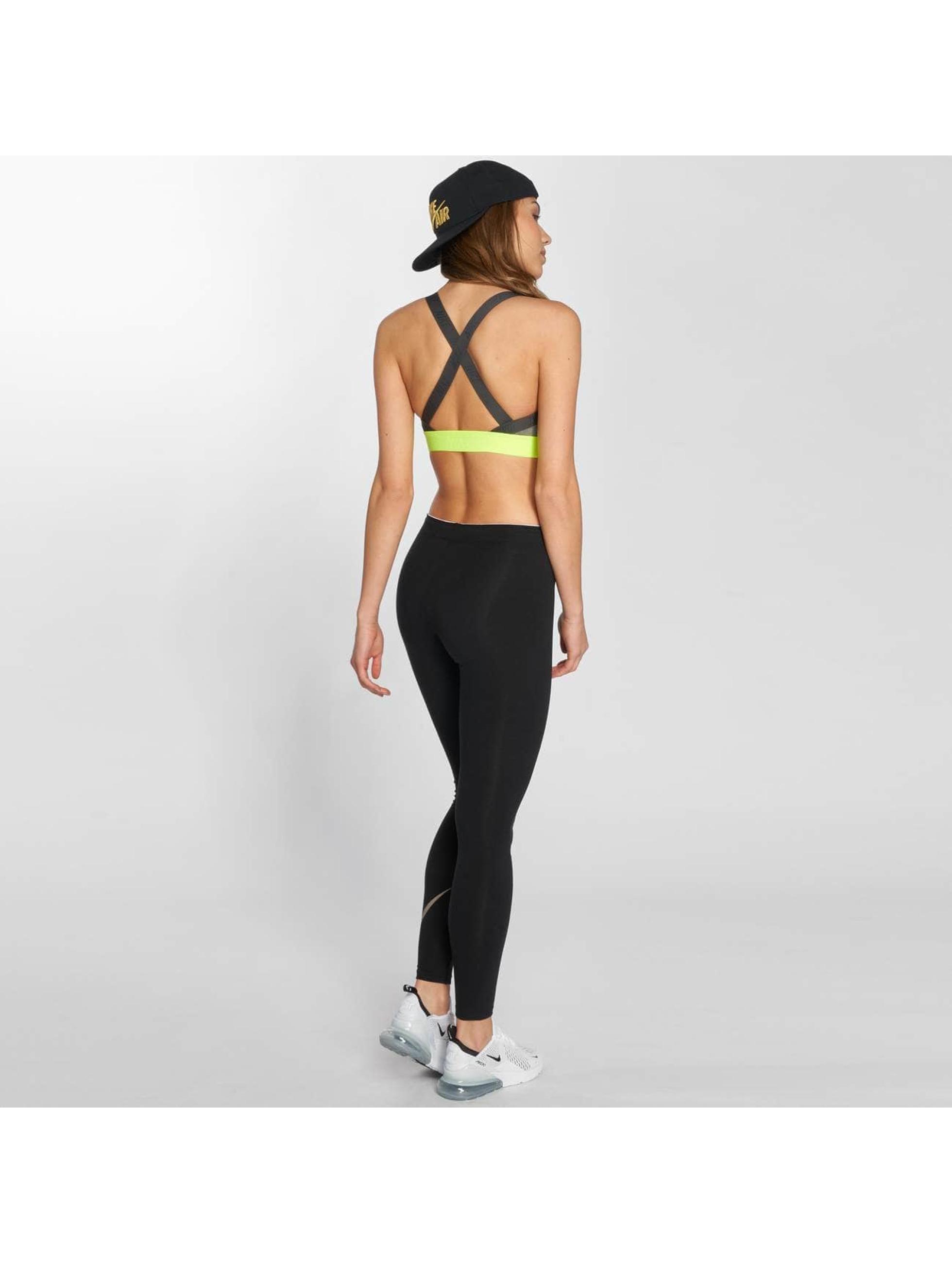 Nike Performance Sujetador desportivo Pro Indy Logo Back gris