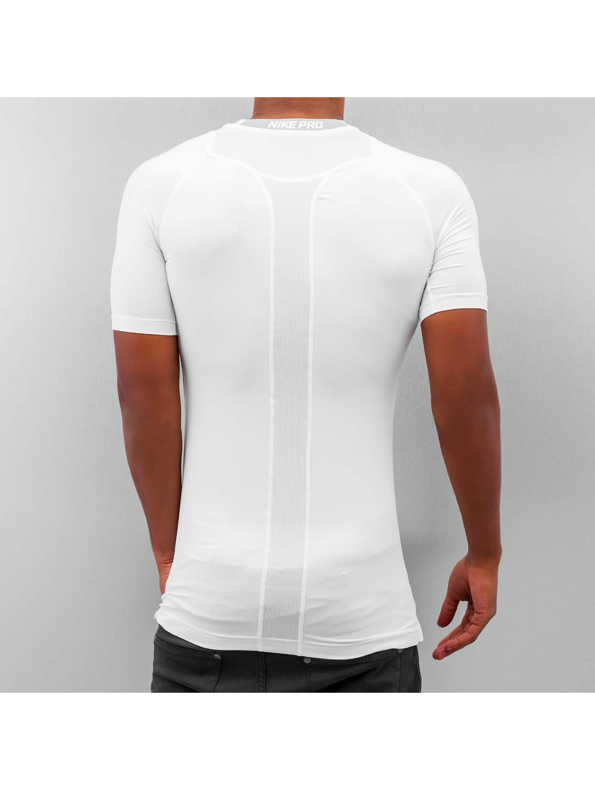 nike performance pro cool compression blanc homme t shirt 218454. Black Bedroom Furniture Sets. Home Design Ideas