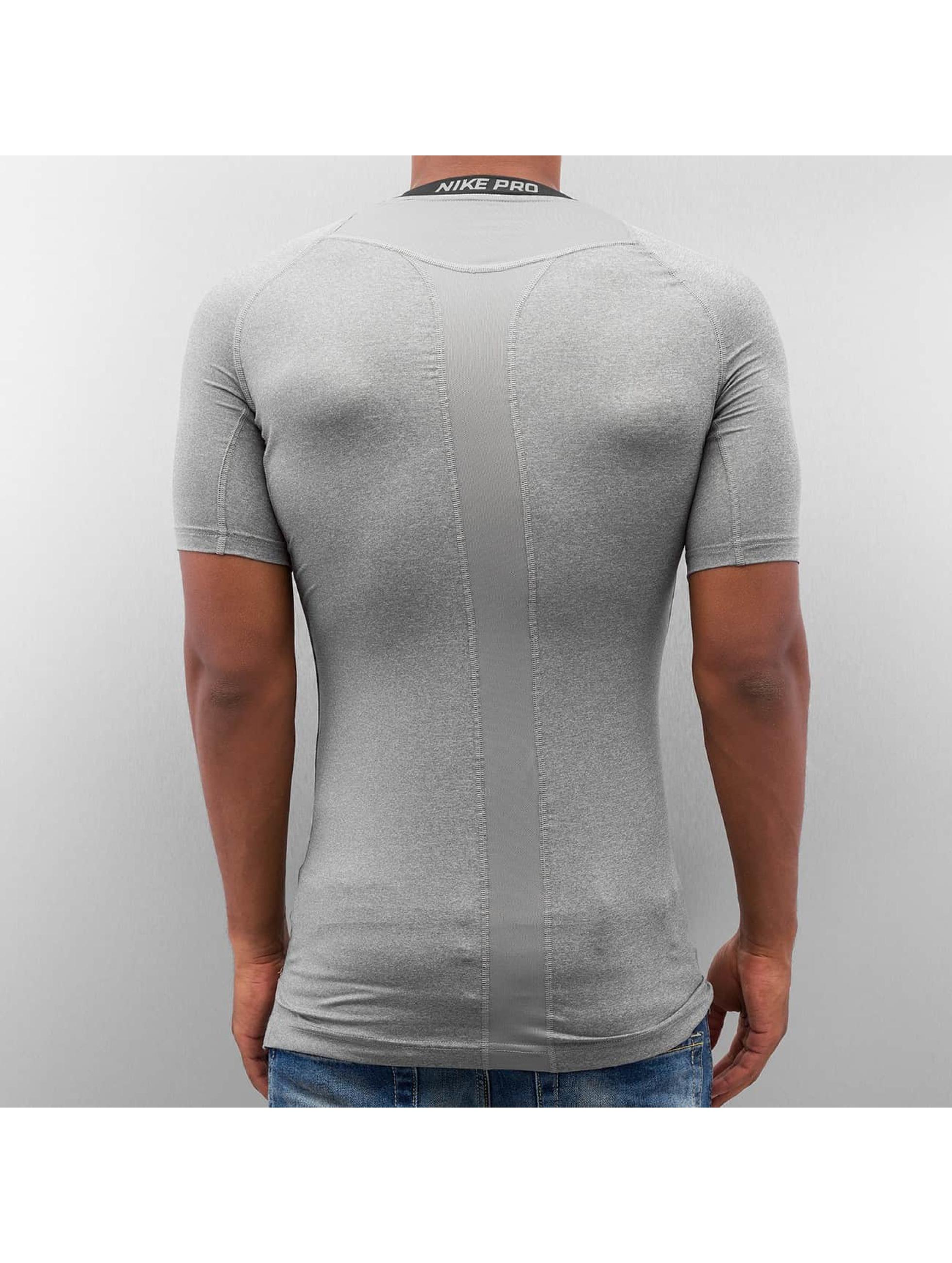 Nike Performance T-Shirt Pro Cool Compression grau
