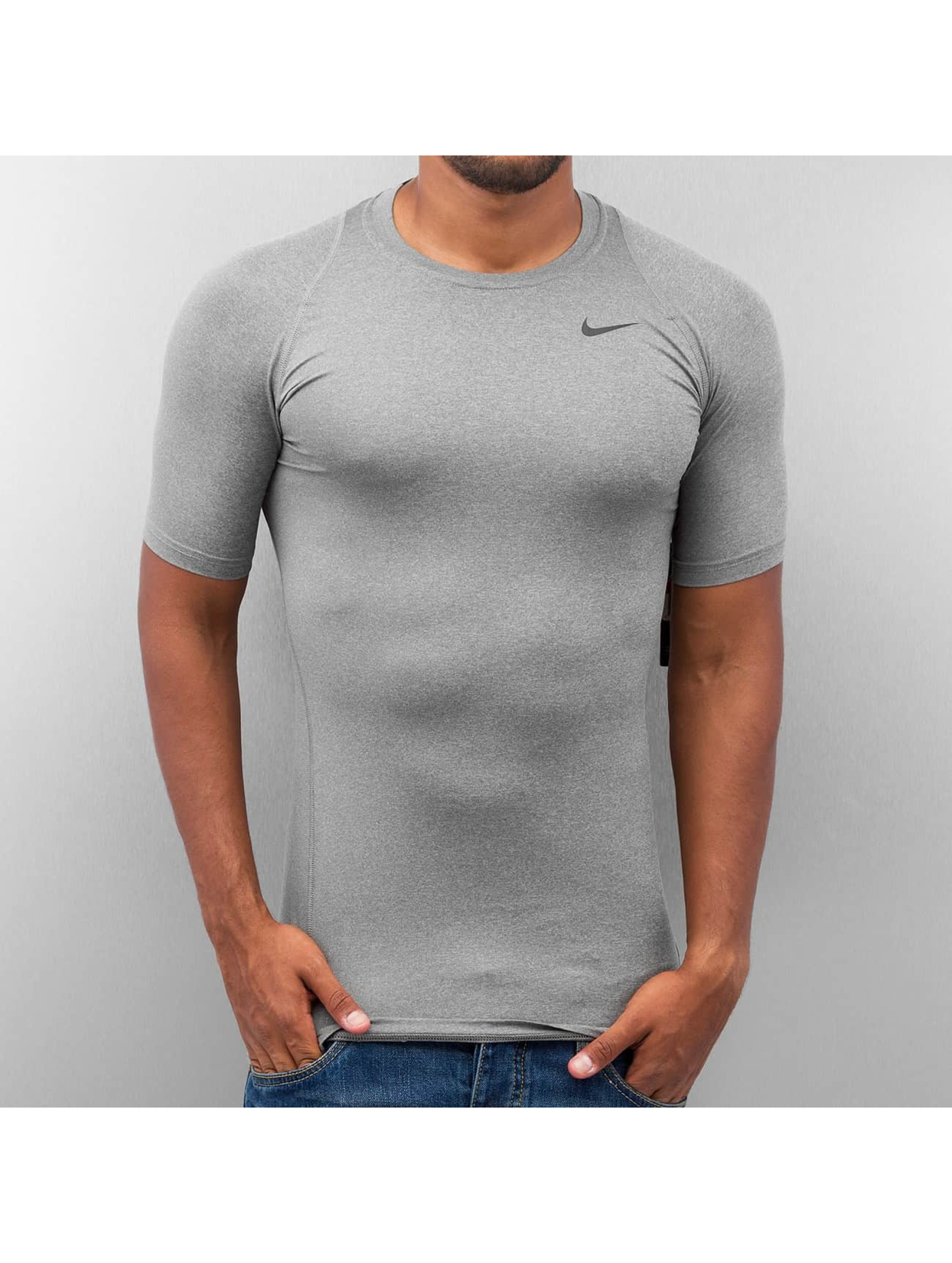 Nike Performance T-Shirt Pro Cool Compression gris