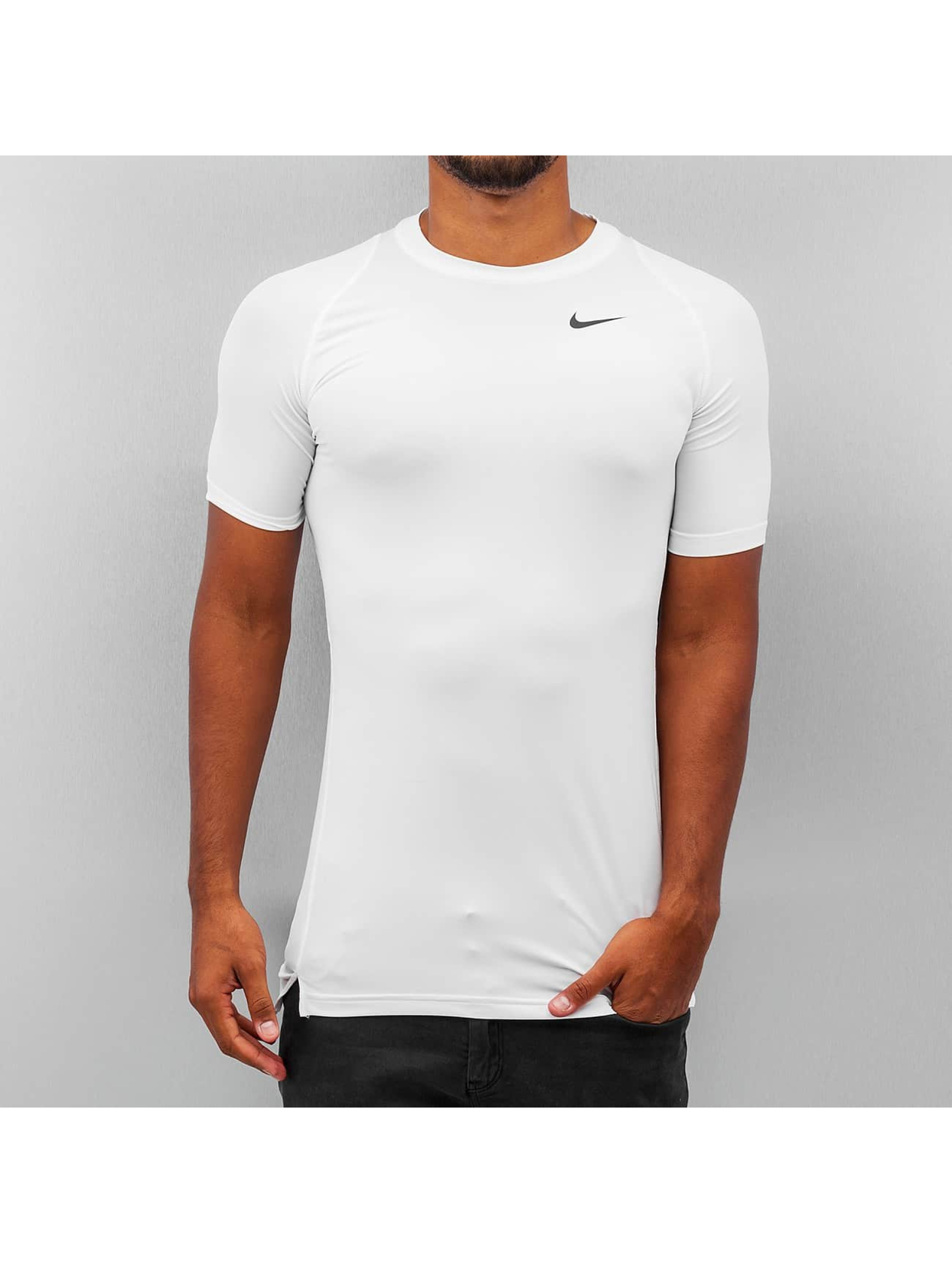 Nike Performance T-Shirt Pro Cool Compression weiß