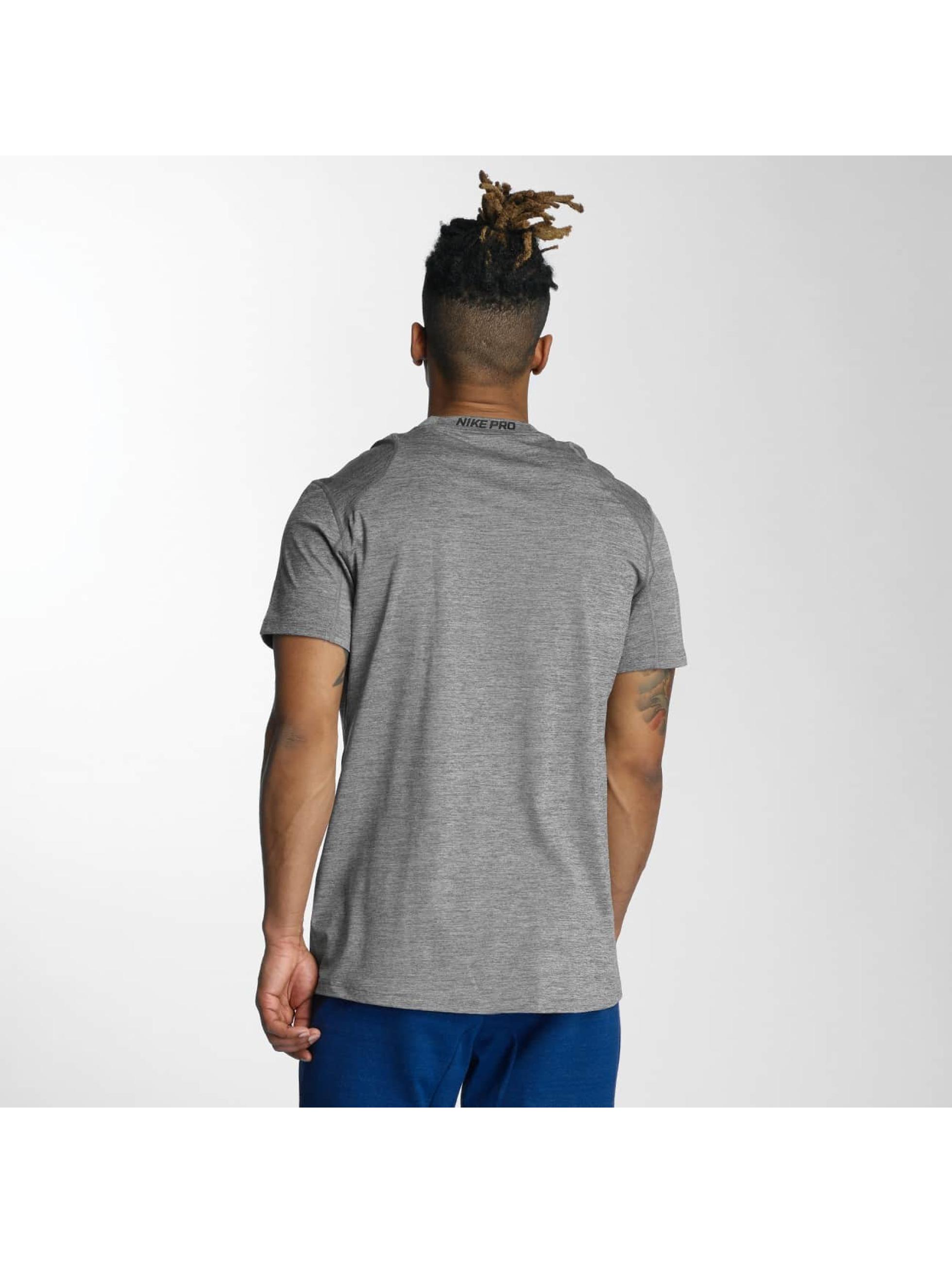 Nike Performance Tričká Top šedá