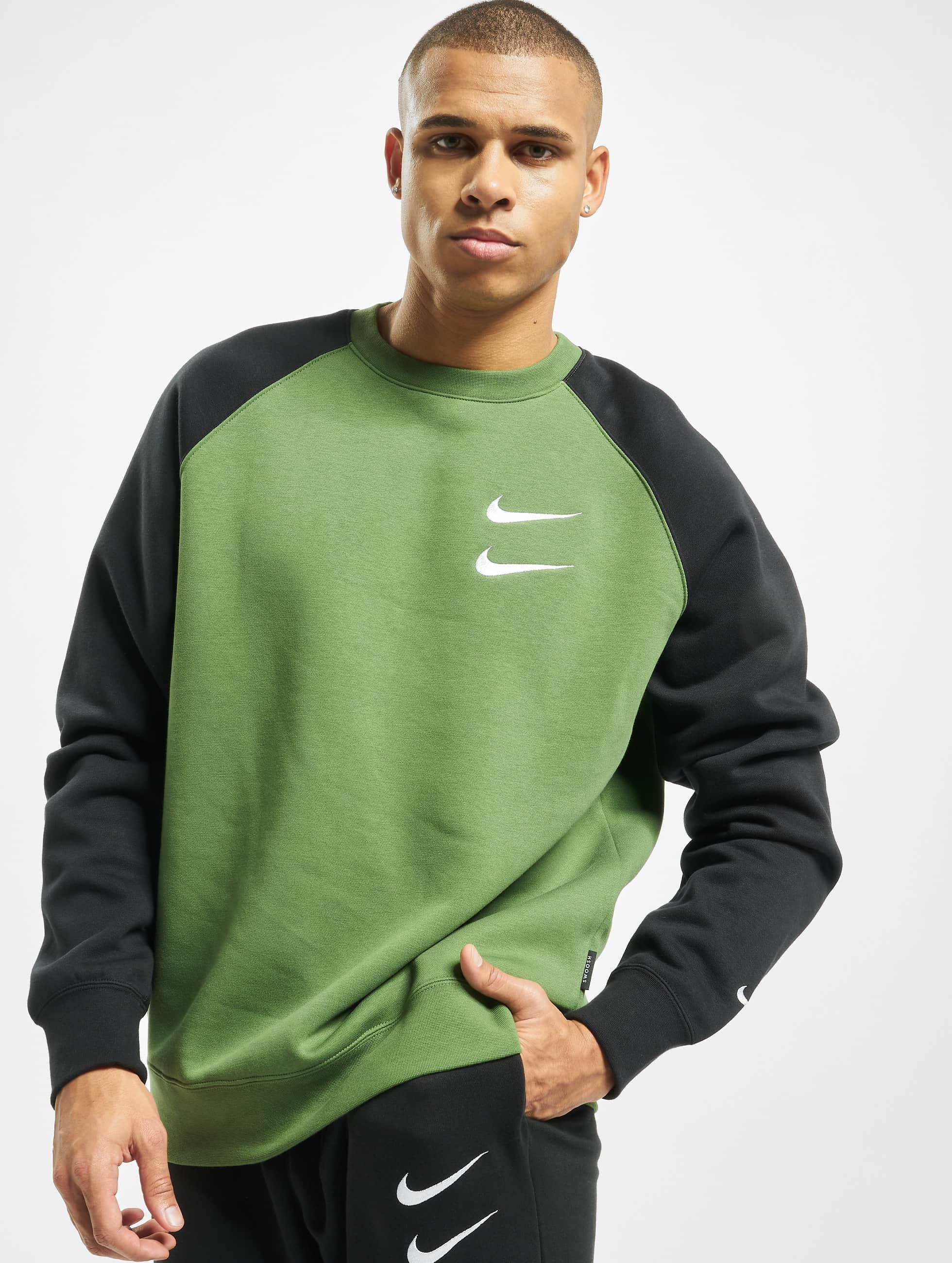 Nike Herren Pullover Club Crew BB in weiß 714976