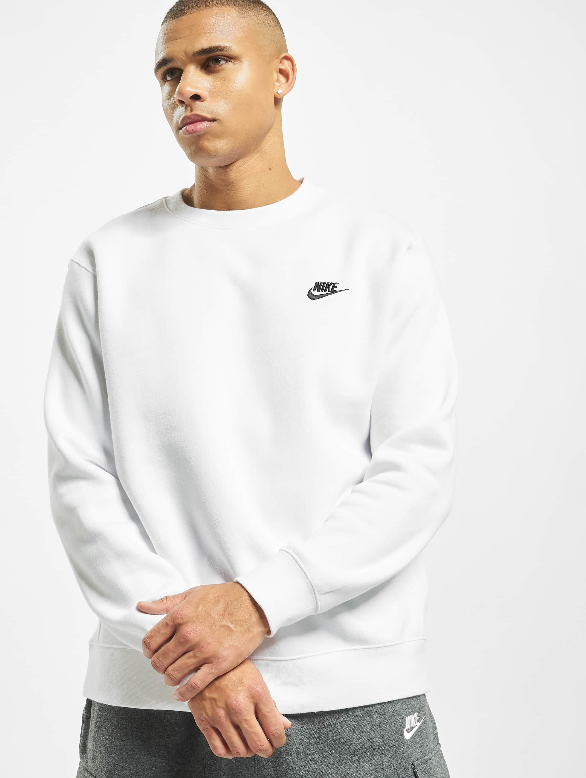 Nike Club Crew BB Sweatshirt WhiteBlack