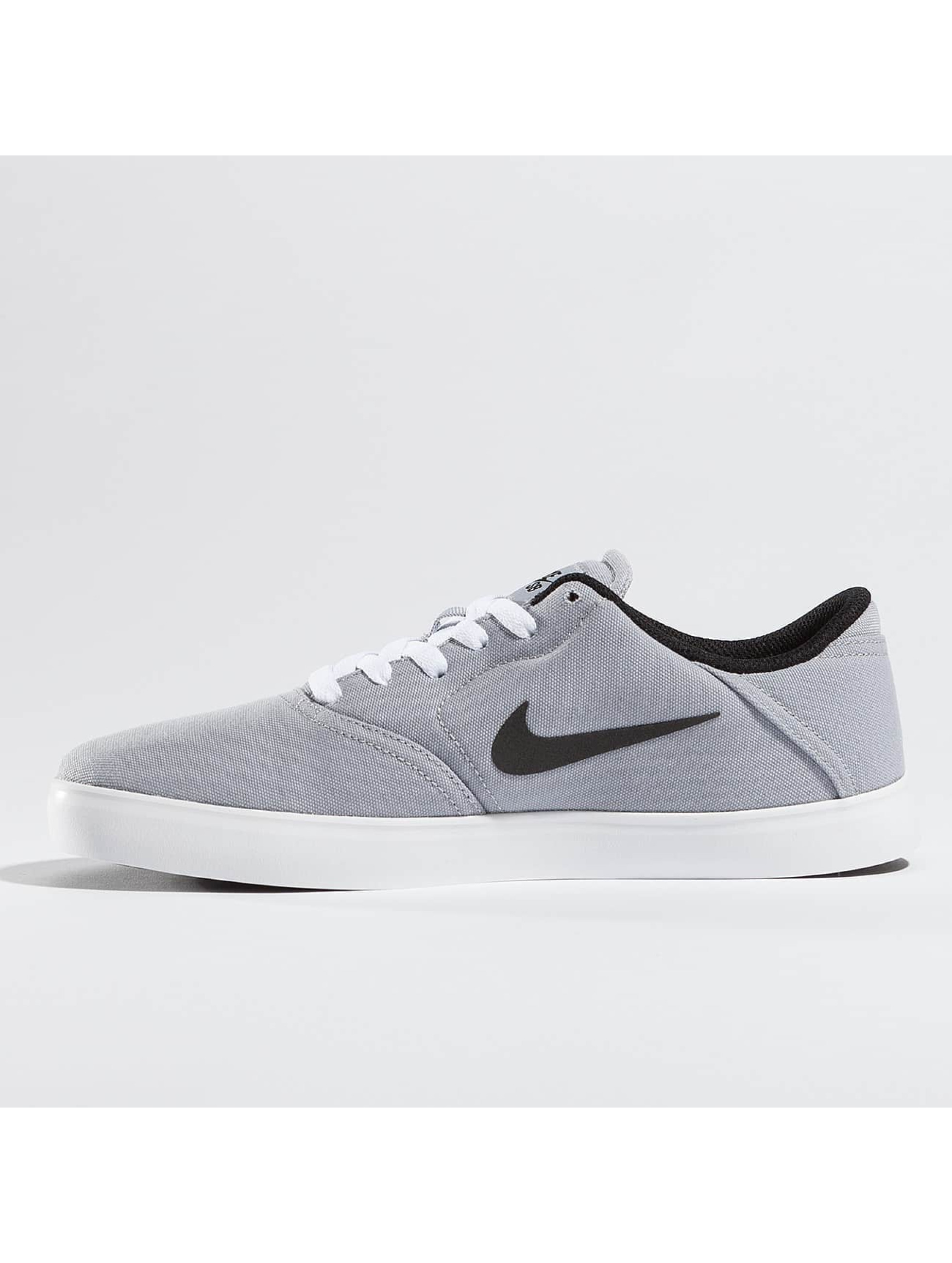 Nike SB Сникеры Check Canvas серый