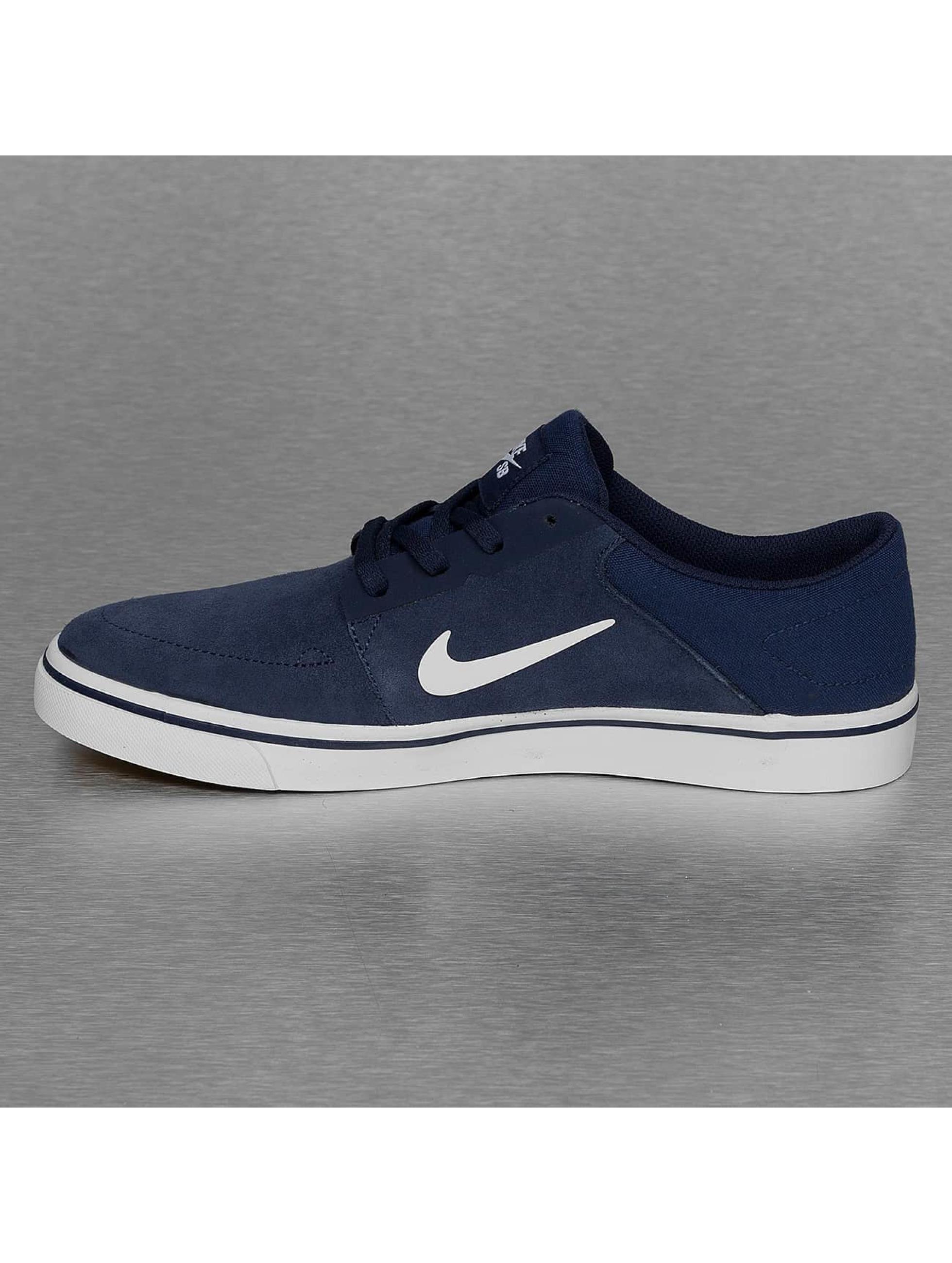 Nike SB Сникеры SB Portmore синий