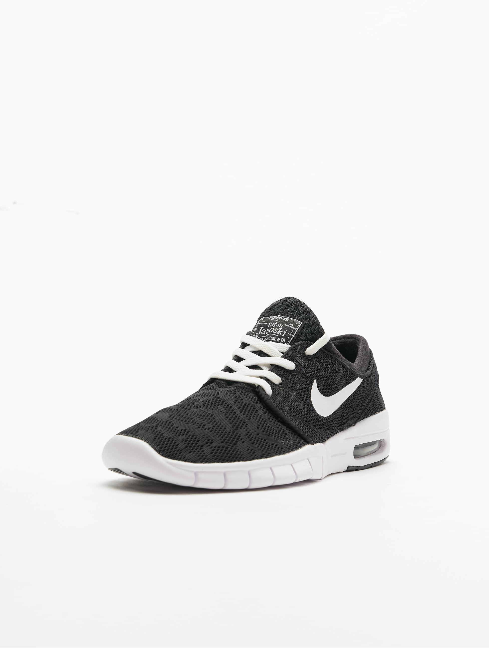 Nike SB Сникеры Stefan Janoski Max черный