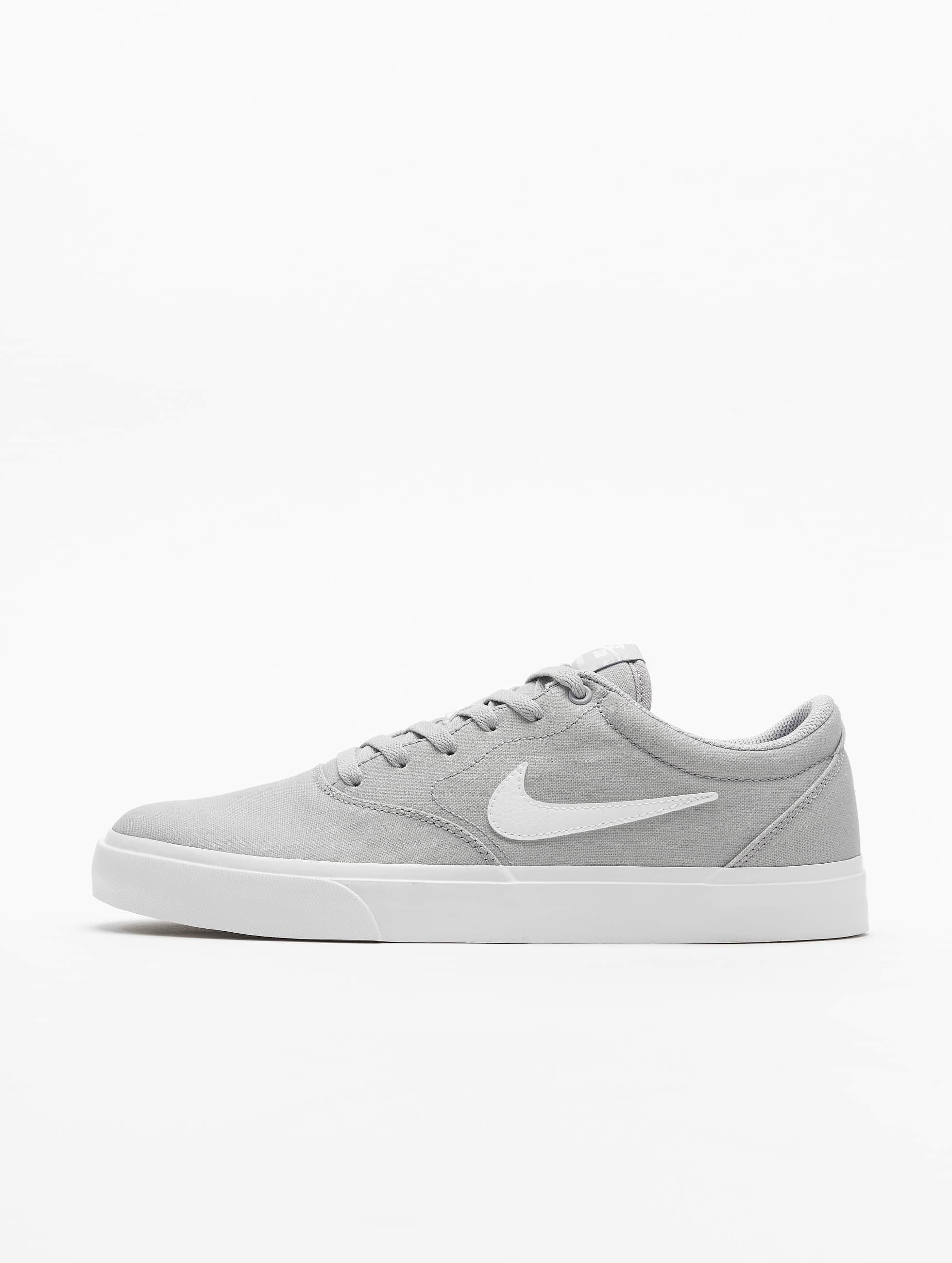 Nike SB Charge Canvas Sneakers Wolf GreyWhite