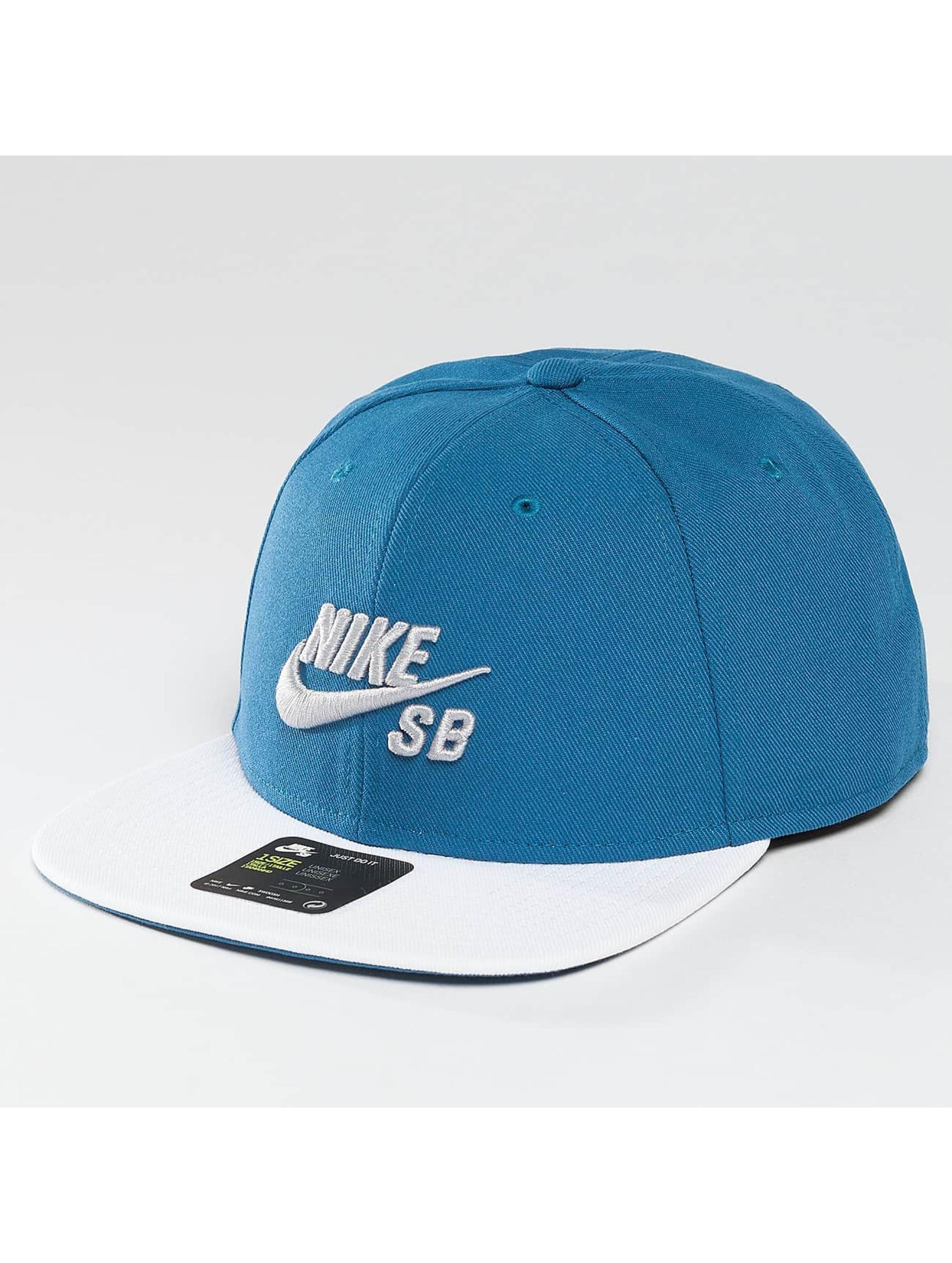 nike sb herren snapback cap icon in blau 306274. Black Bedroom Furniture Sets. Home Design Ideas