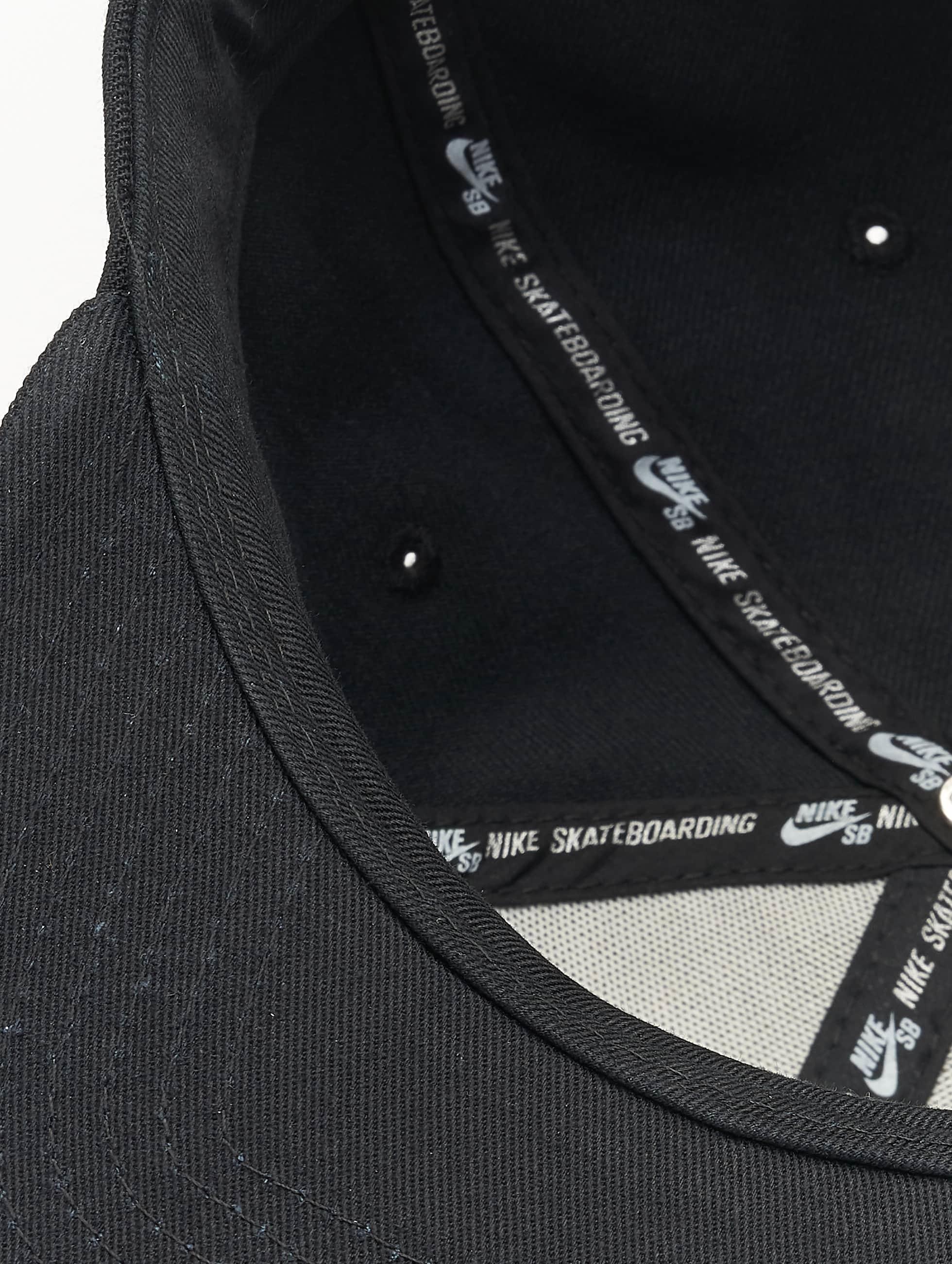 Nike SB Snapback Cap SB Icon Pro schwarz
