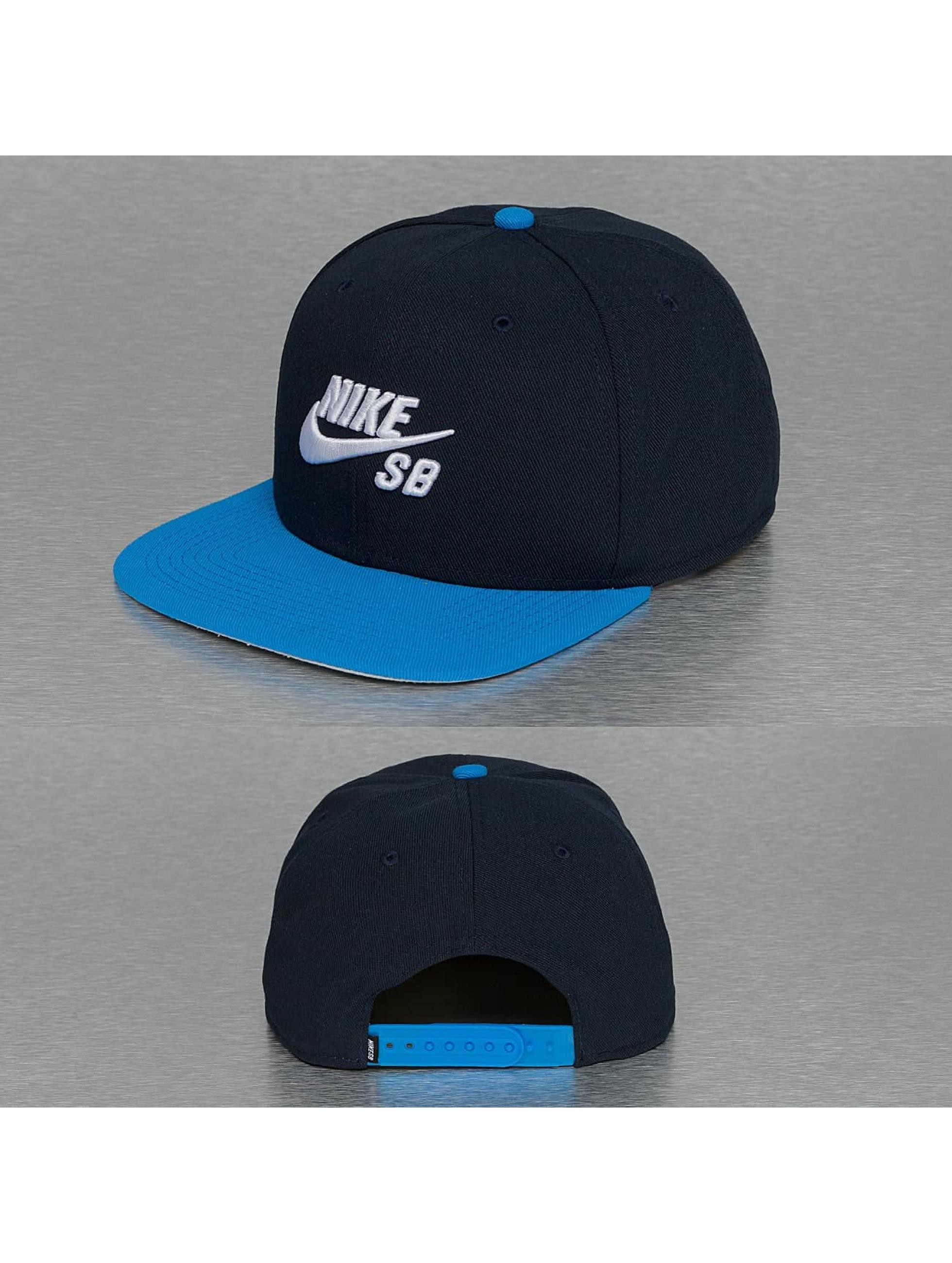 nike 21 heures de mercer - Nike SB Cap / snapback cap Chambray Phillips Pro in blauw 198763