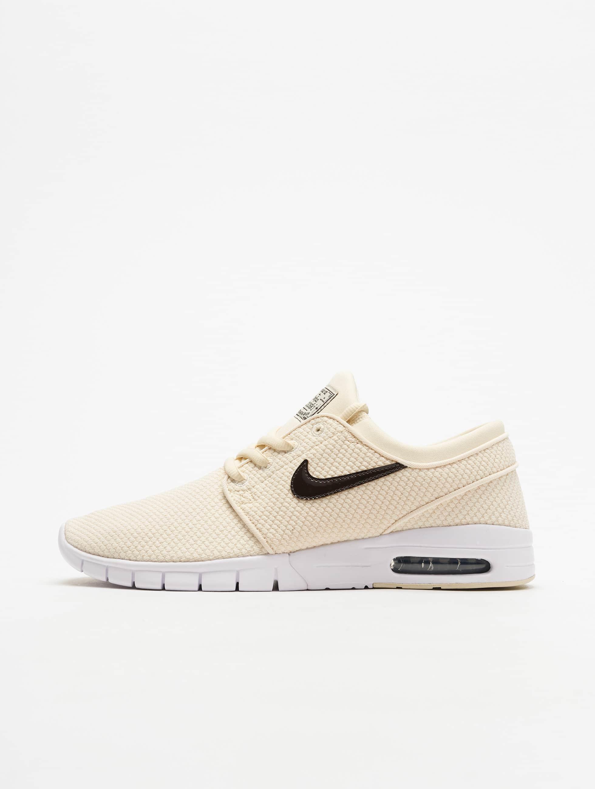 Nike SB Stefan Janoski Max Sneakers Light Cream/Velvet Brown/White