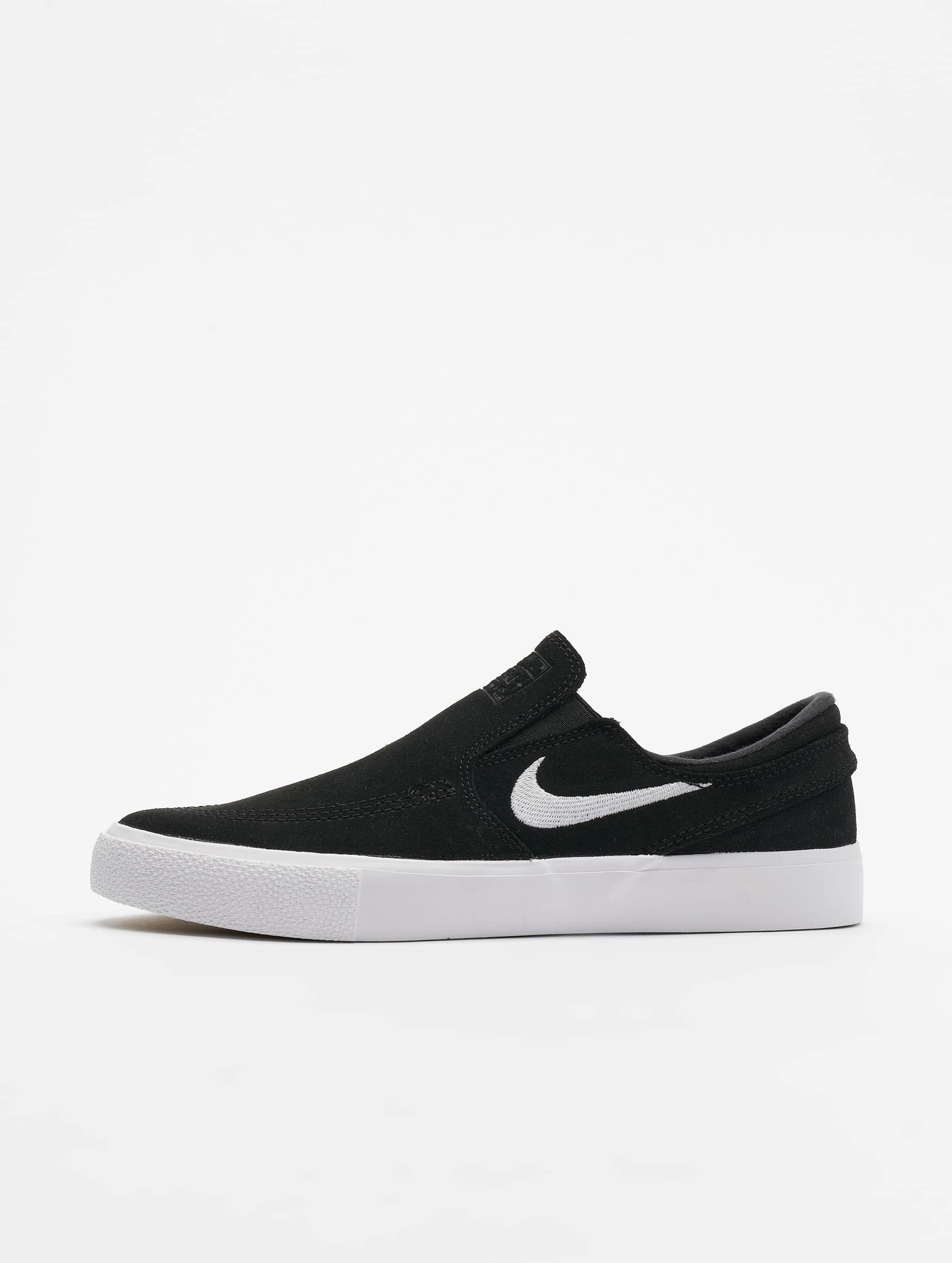 new product 5e12b b567c Nike SB Zoom Janoski Slip Sneakers Black/White/White