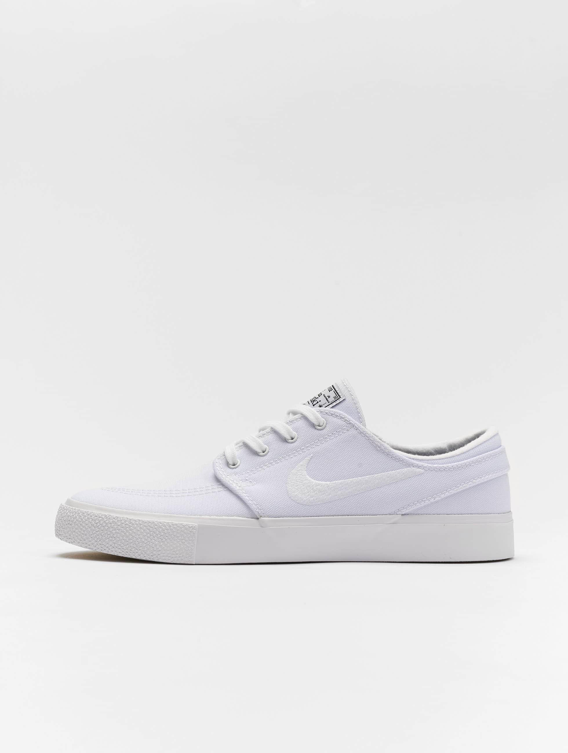 nice cheap run shoes good out x Nike SB Zoom Janoski Canvas Sneakers White/White/Gum Light Brown/Black