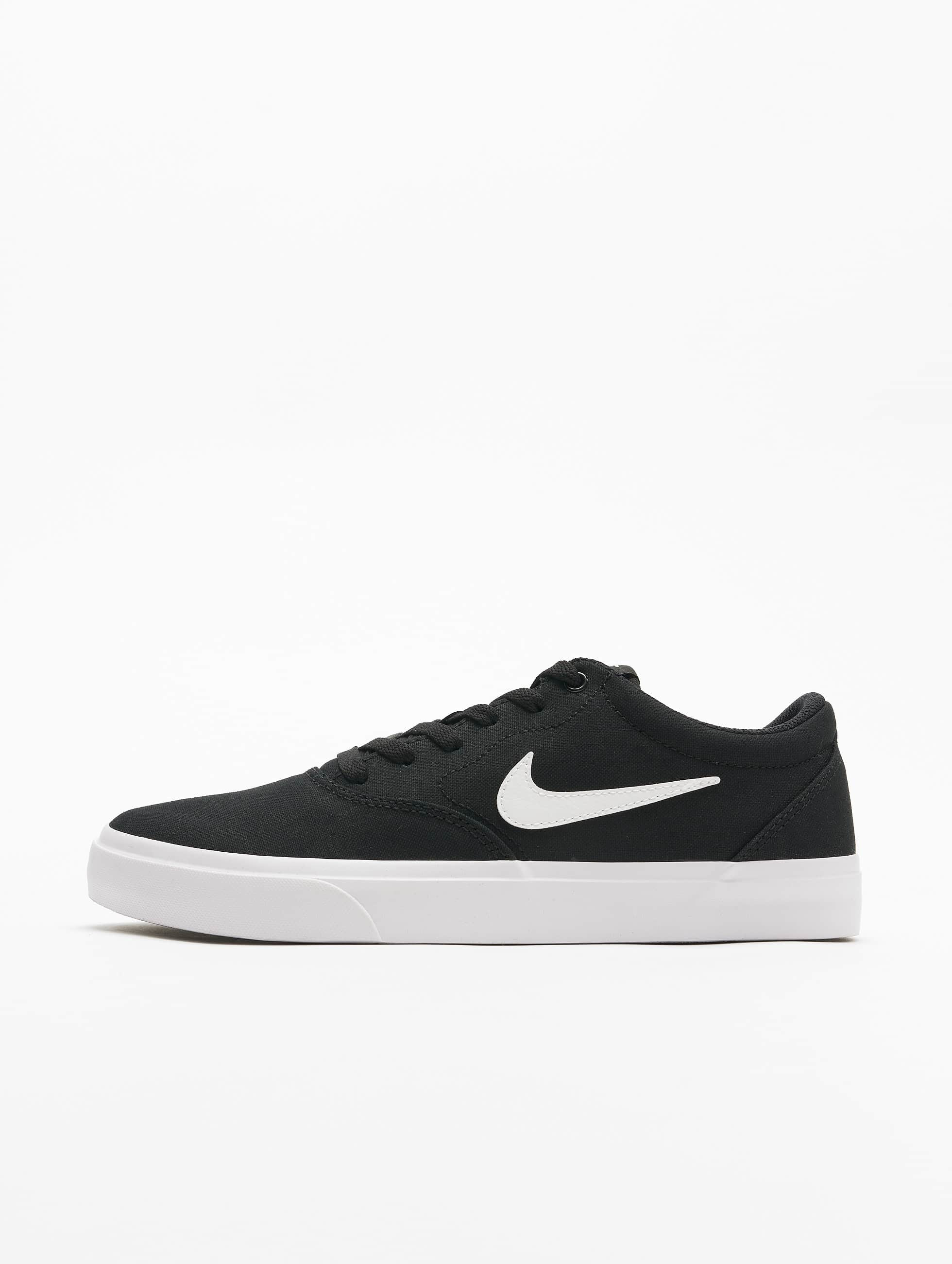 Nike SB Charge Canvas Sneakers Black/White