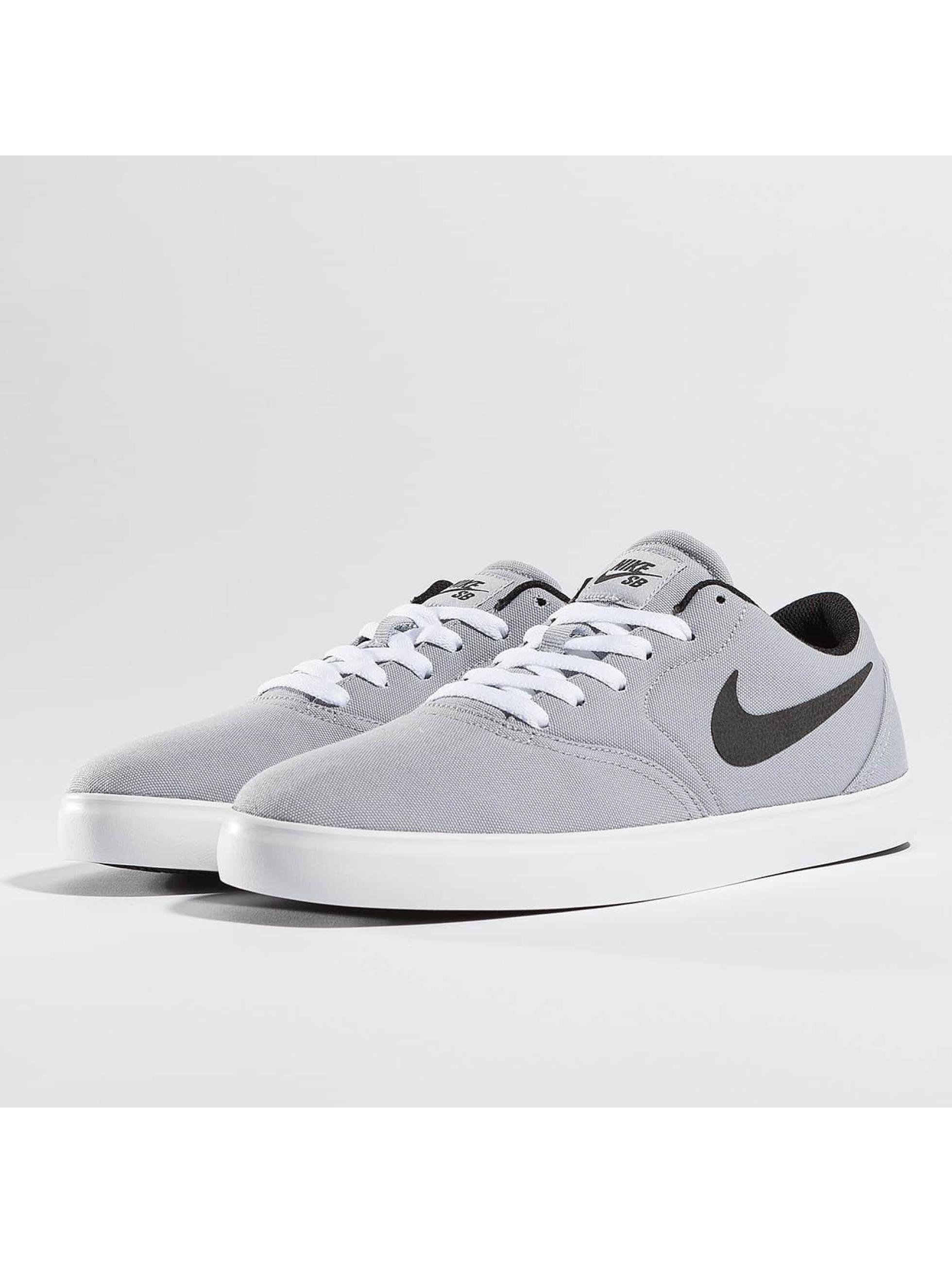 Nike SB Sneakers Check Canvas šedá