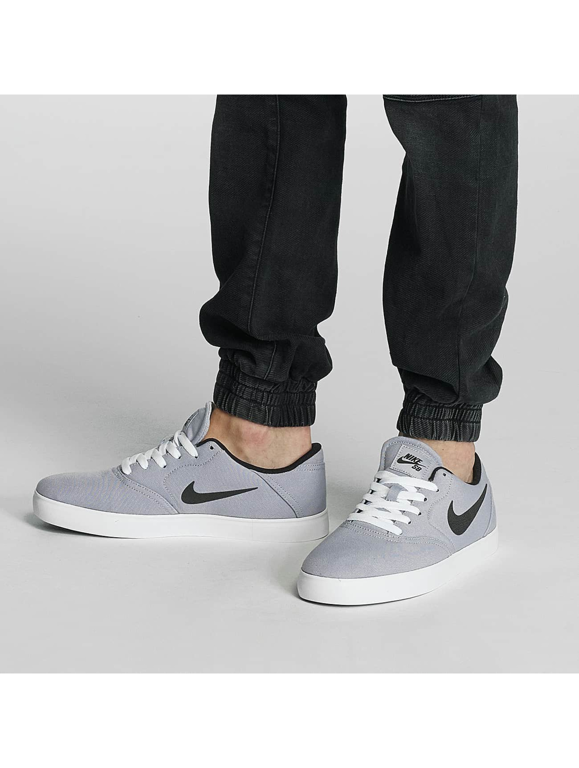Nike SB Sneakers Check Canvas šedá