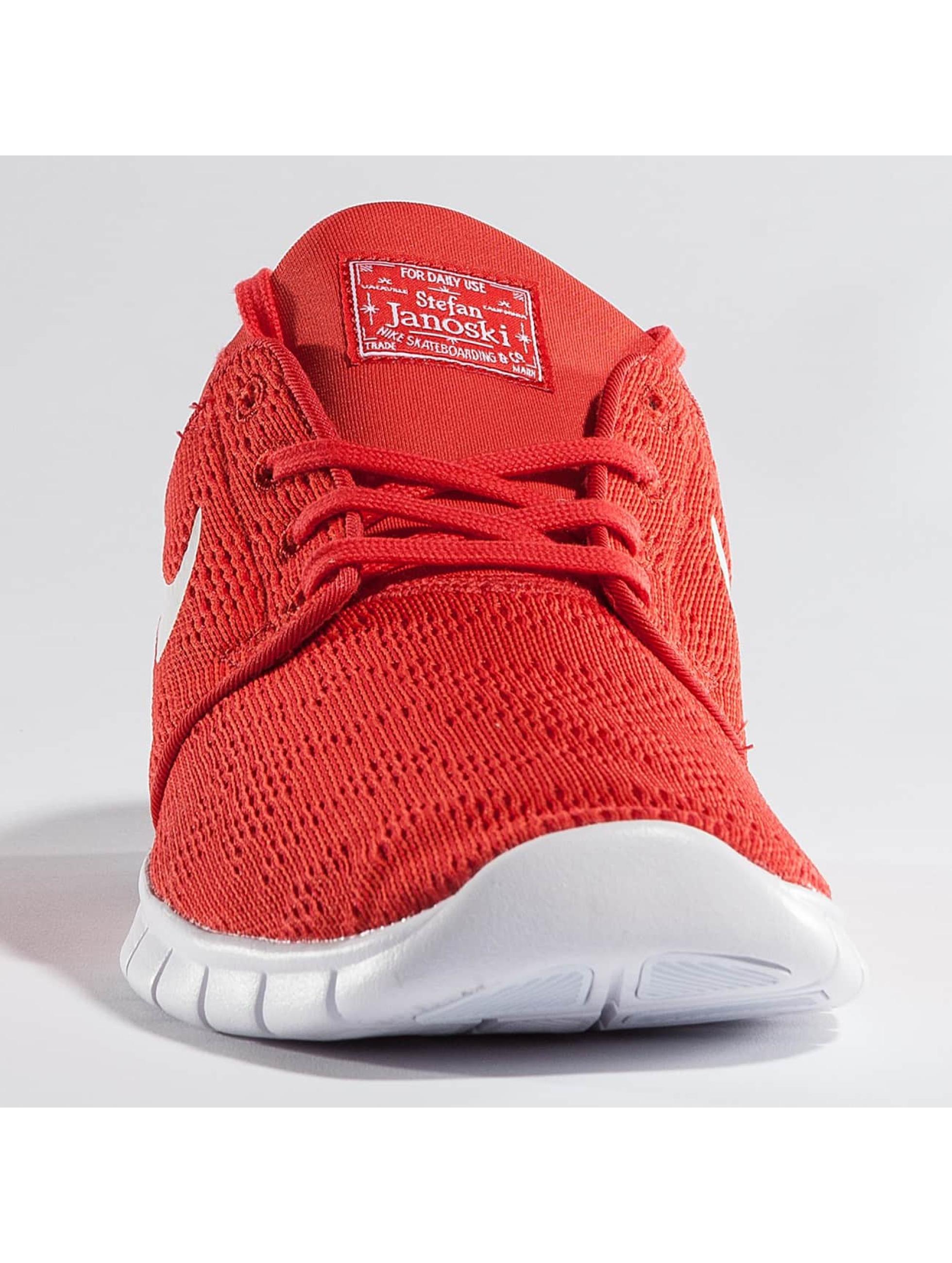 Nike SB Sneakers Stefan Janoski Max red