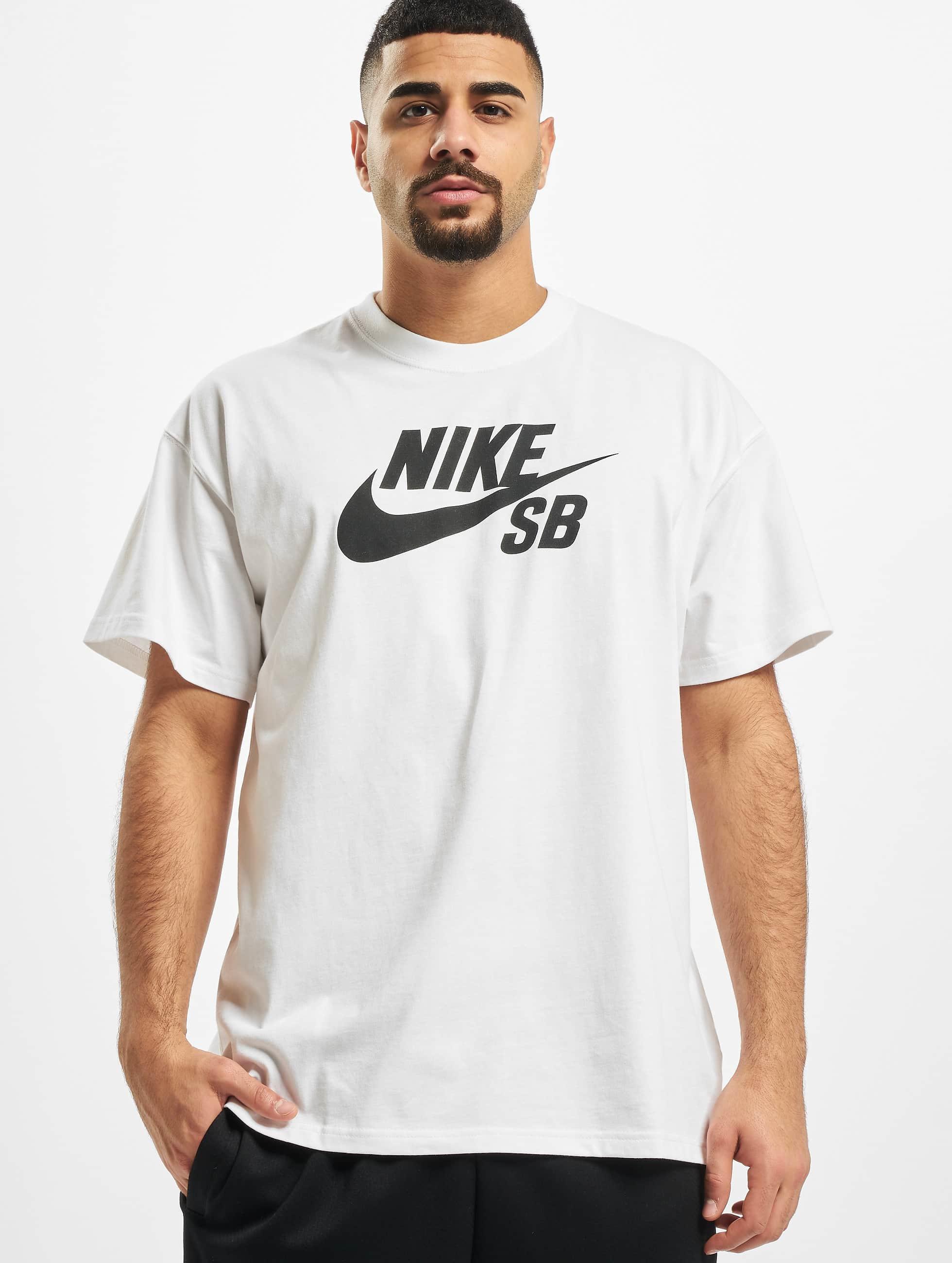 Nike SB Logo T-Shirt White/Black