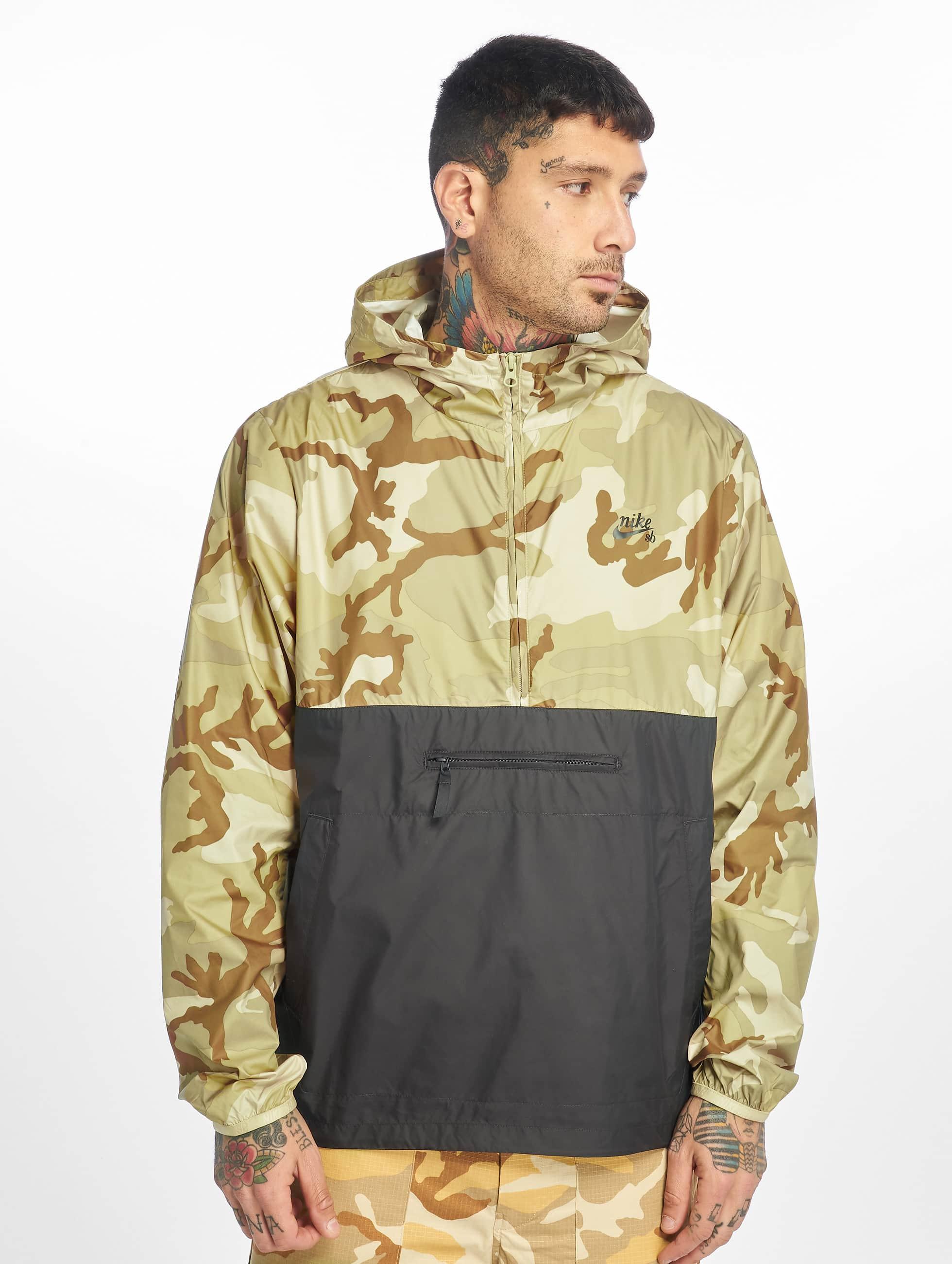 Nike SB Anorak Jacket Camo Desert OreAnthraciteAnthracite
