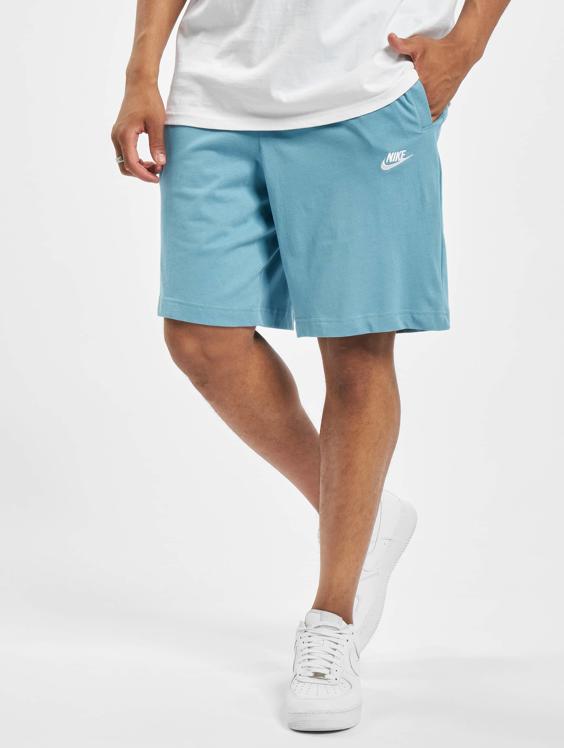 Nike Club Shorts CeruleanWhite