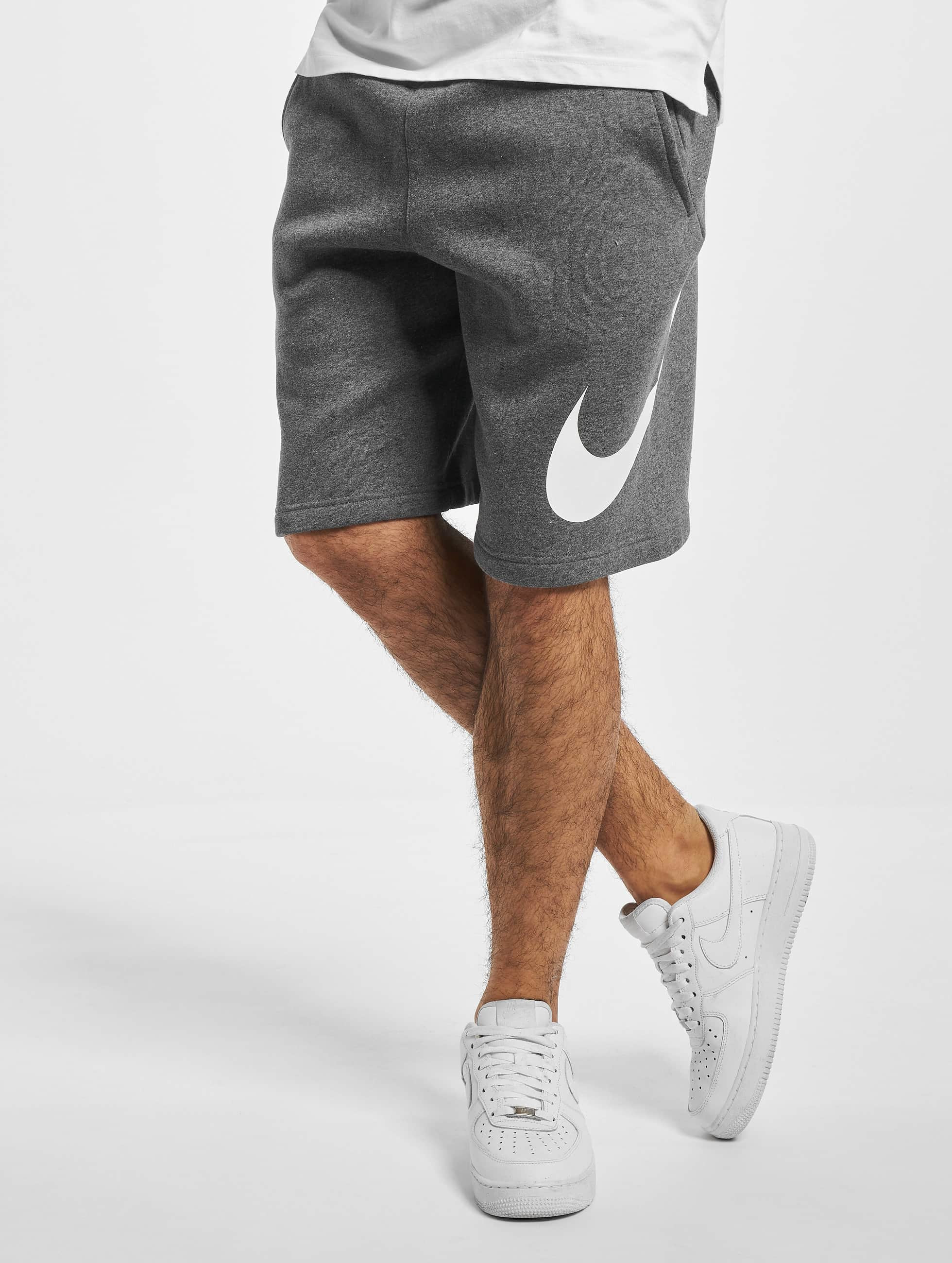 Nike Club BB GX Shorts Charcoal HeatherWhiteWhite