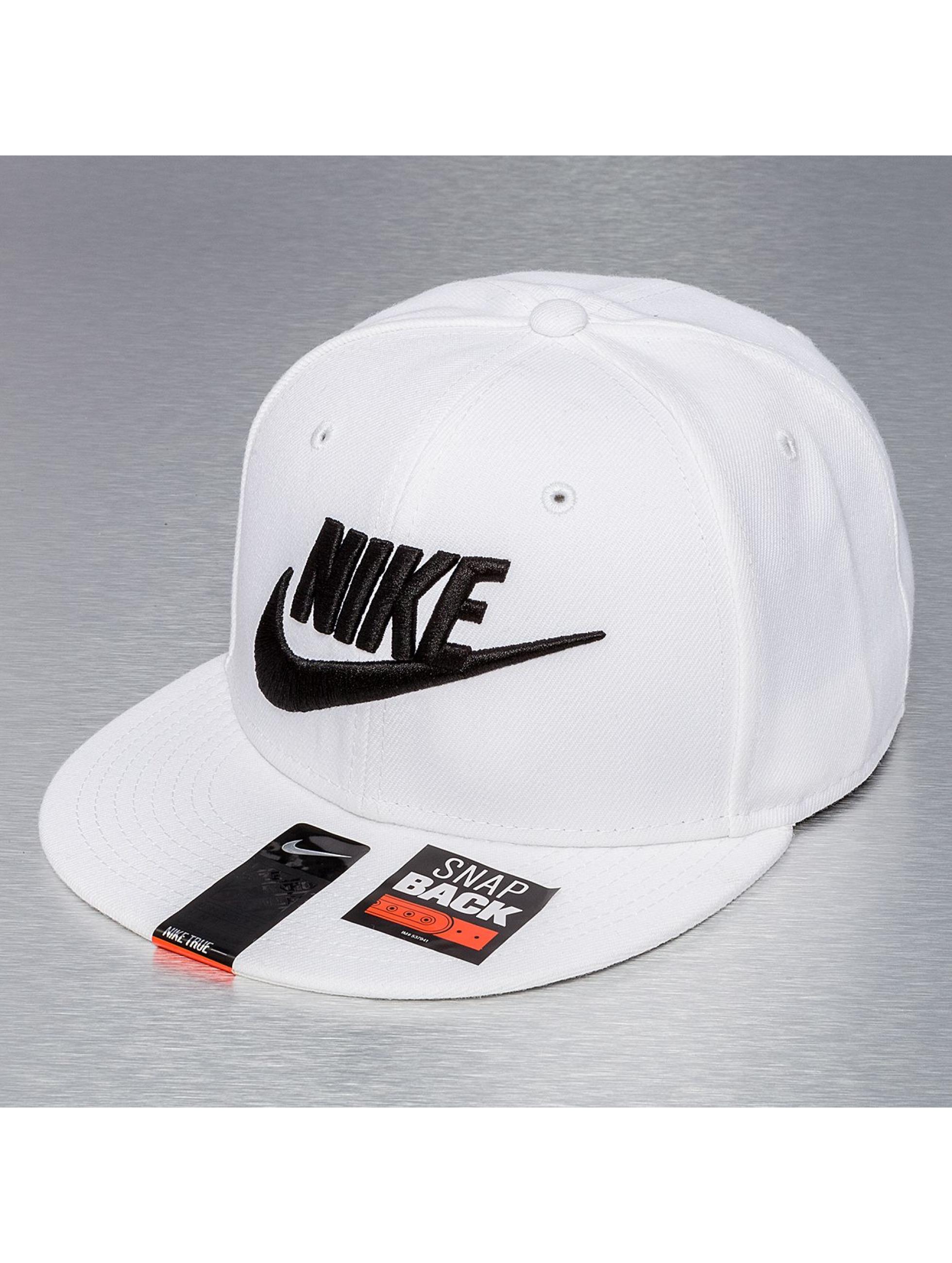 Snapback Nike Futura True 2 en blanc
