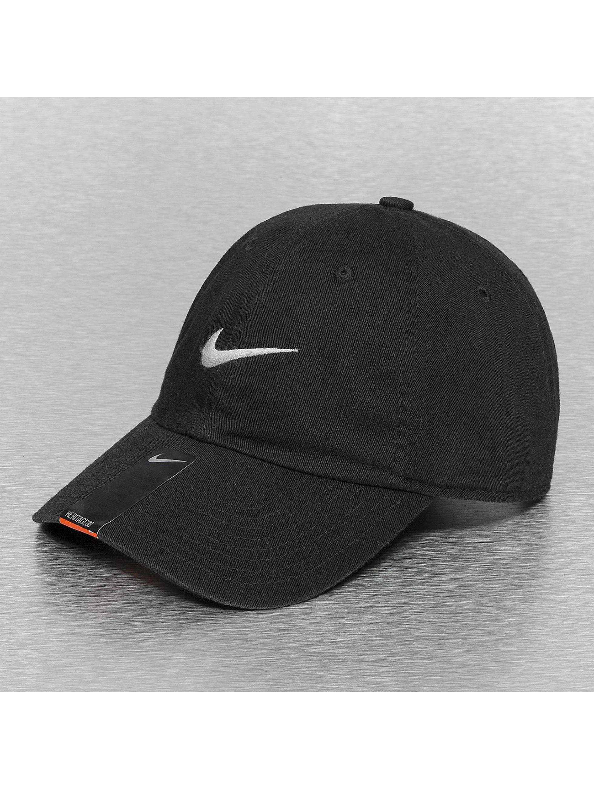 Nike Casquette / Snapback Swoosh Heritage 86 en noir