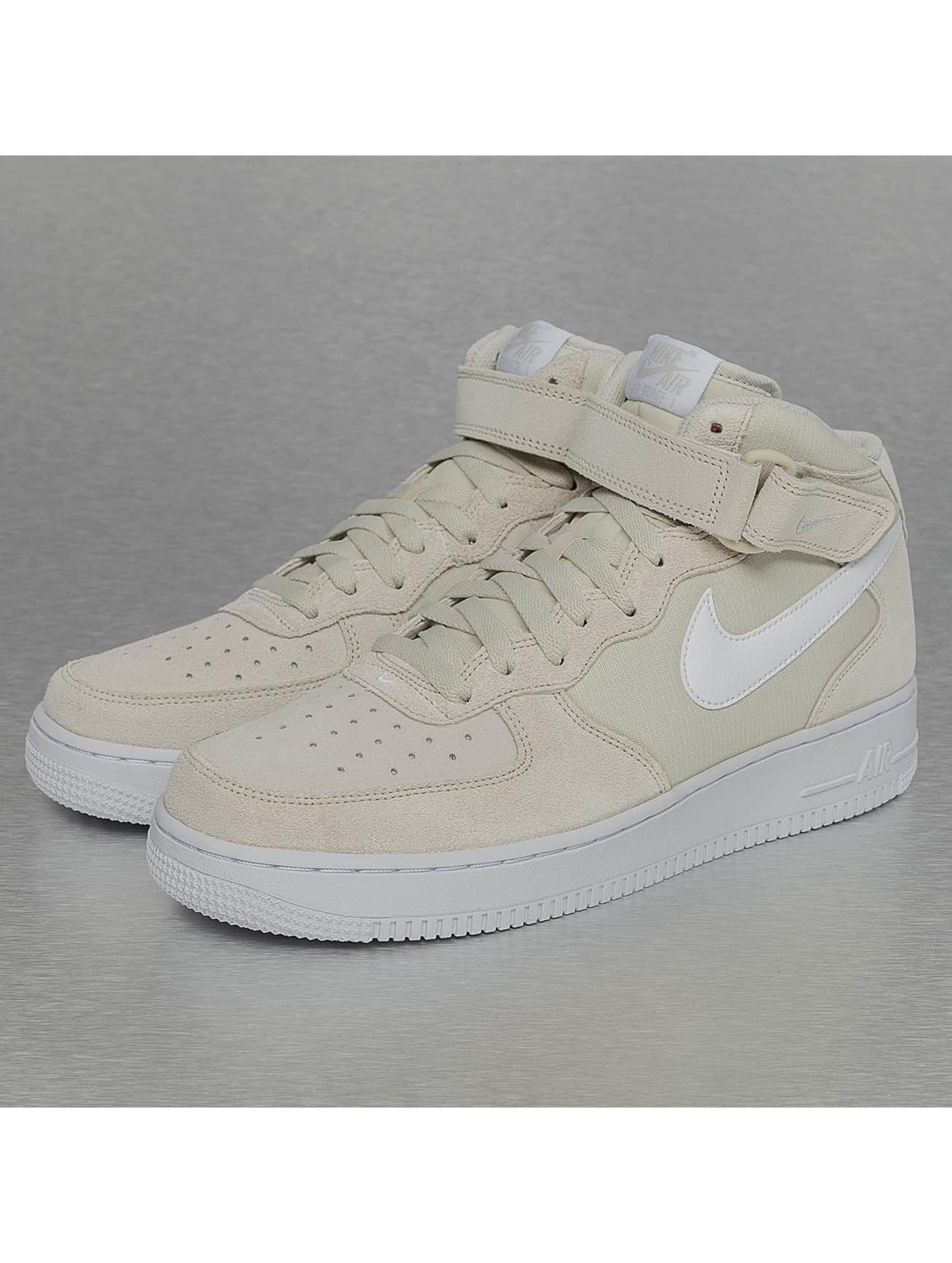 Sneaker Air Force 1 Mid 07 in beige
