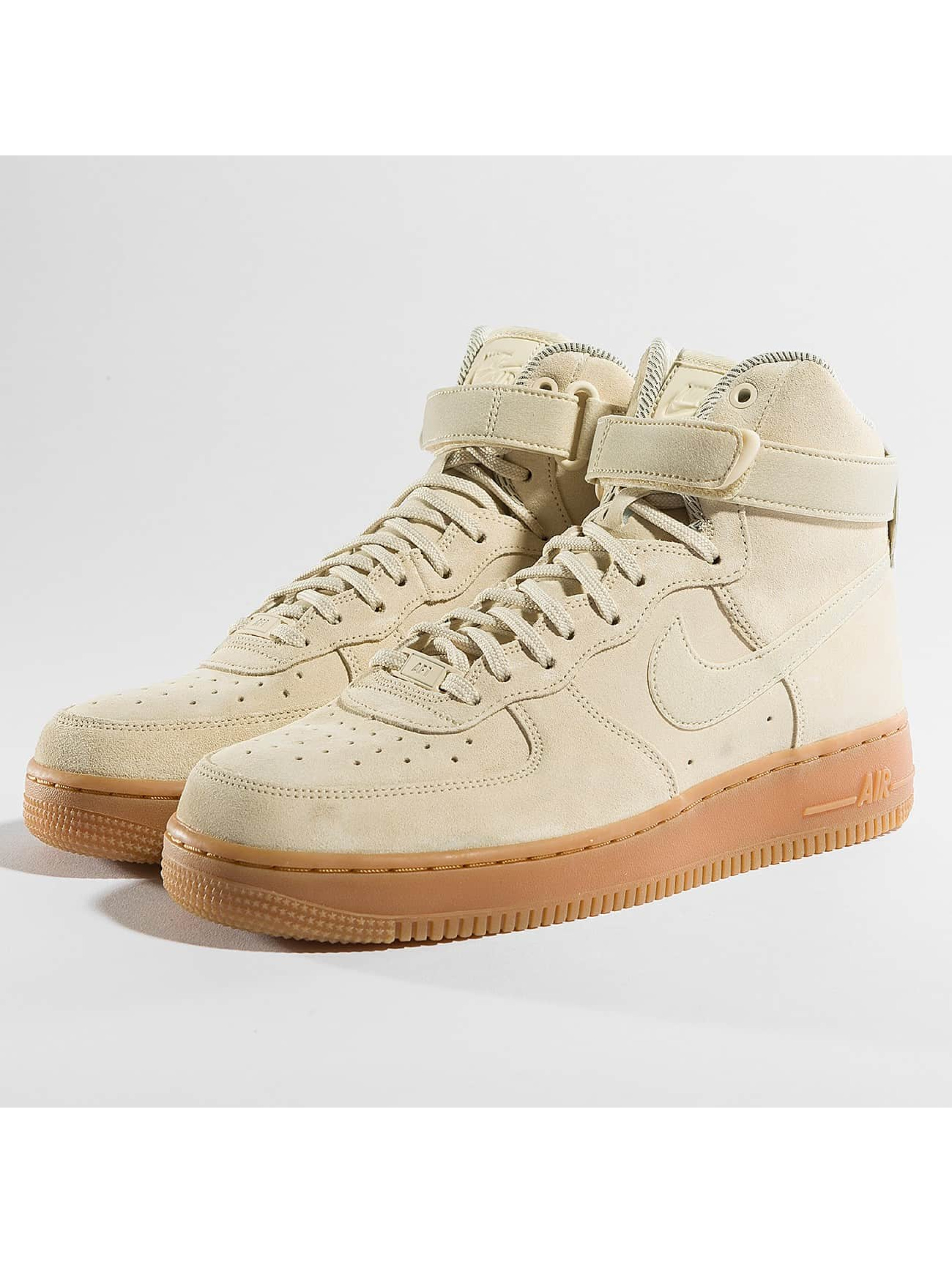 nike damen sneaker air force 1 hi se in beige 362635. Black Bedroom Furniture Sets. Home Design Ideas