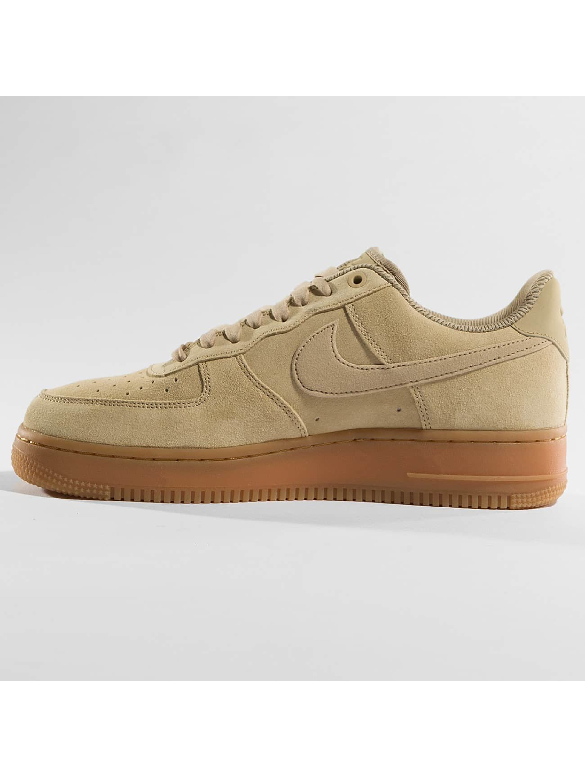 nike damen sneaker air force 1 39 07 se in beige 390413. Black Bedroom Furniture Sets. Home Design Ideas