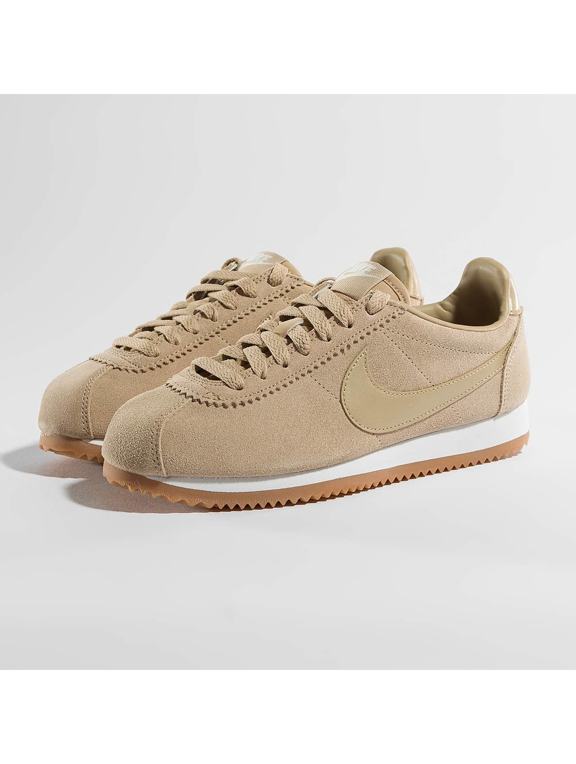 nike damen sneaker classic cortez suede in beige 394912. Black Bedroom Furniture Sets. Home Design Ideas