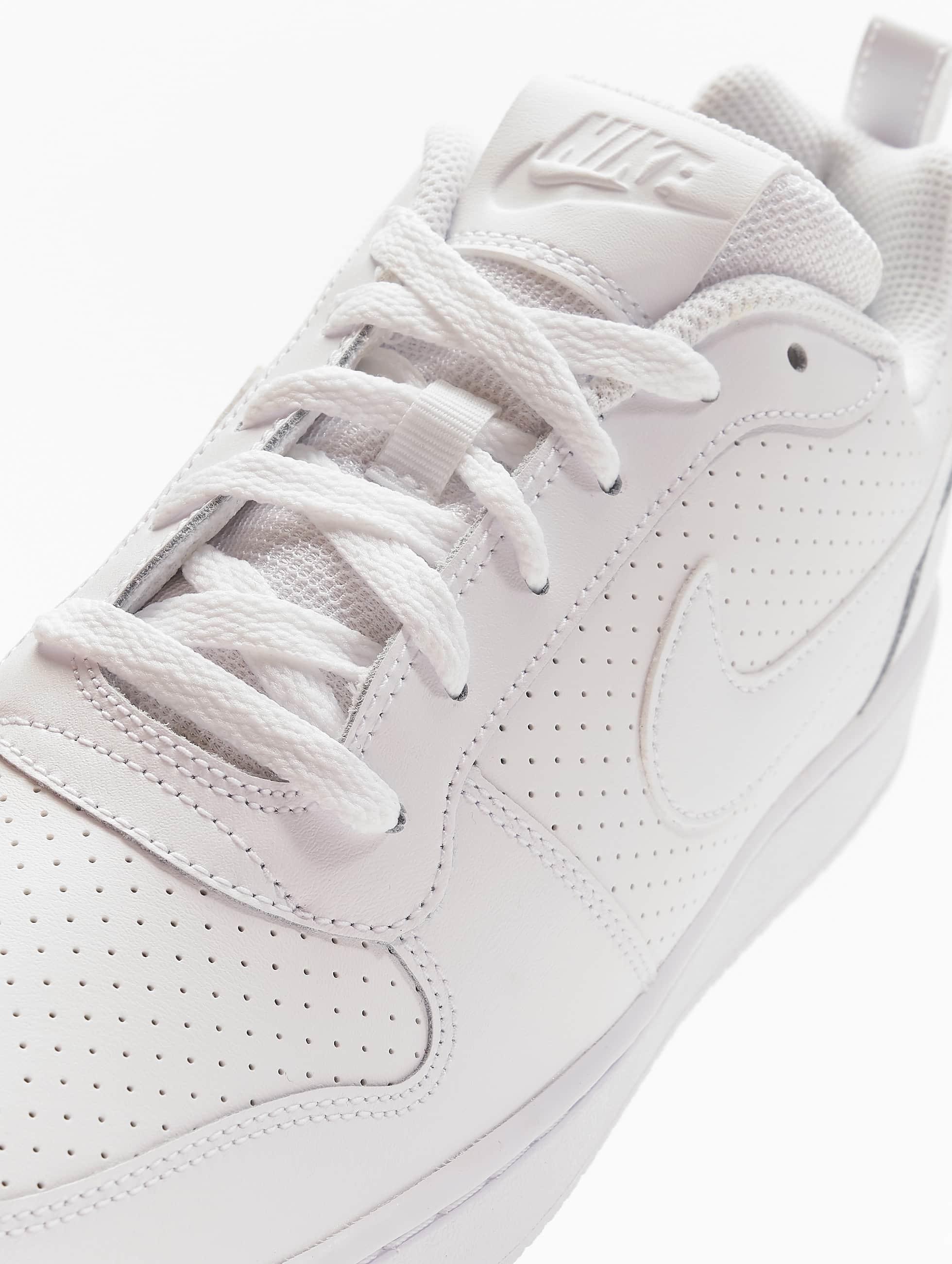 Nike Sneaker Court Borough Low bianco
