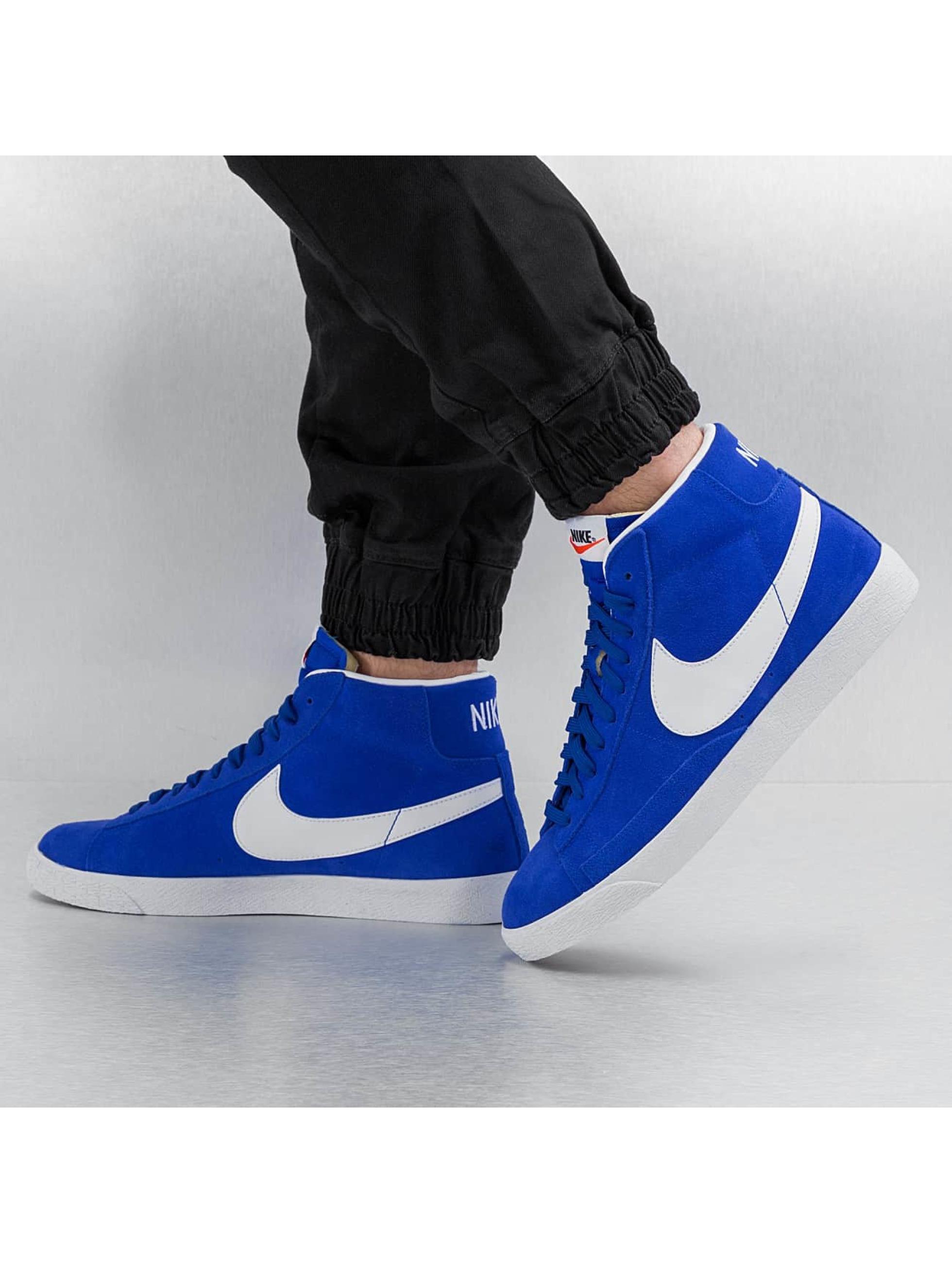 Sneaker Blazer Mid-Top Premium in blau