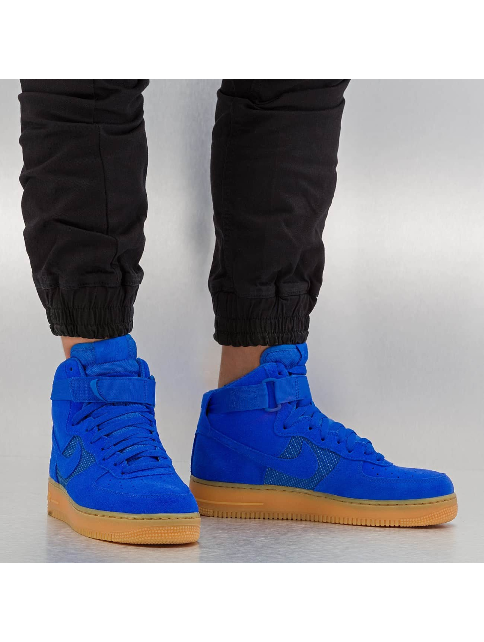 Sneaker Air Force 1 High 07 LV8 in blau