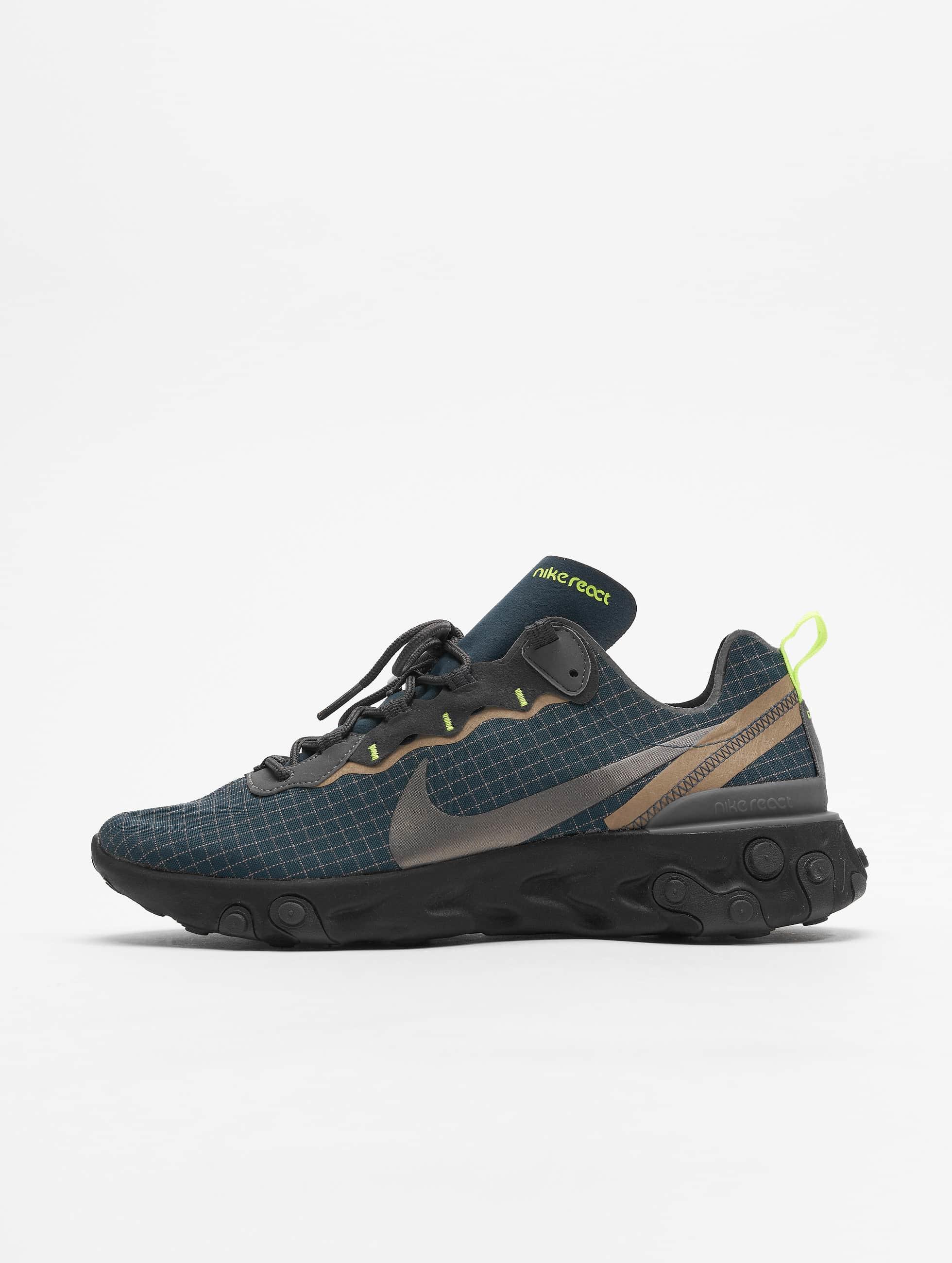 c31b12b6b4d9d5 Nike Herren Sneaker React Element 55 in blau 653927