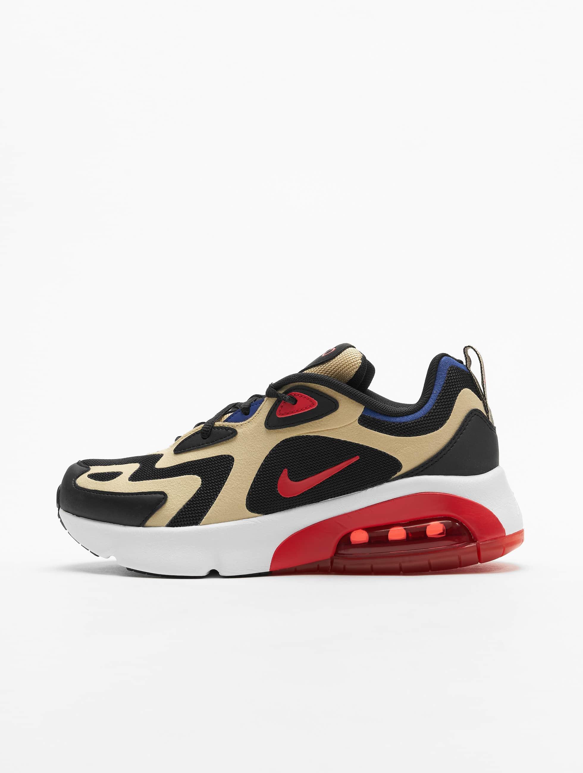 Nike Air Max 200 (GS) Sneakers Team GoldenUniversity RedBlackWhite