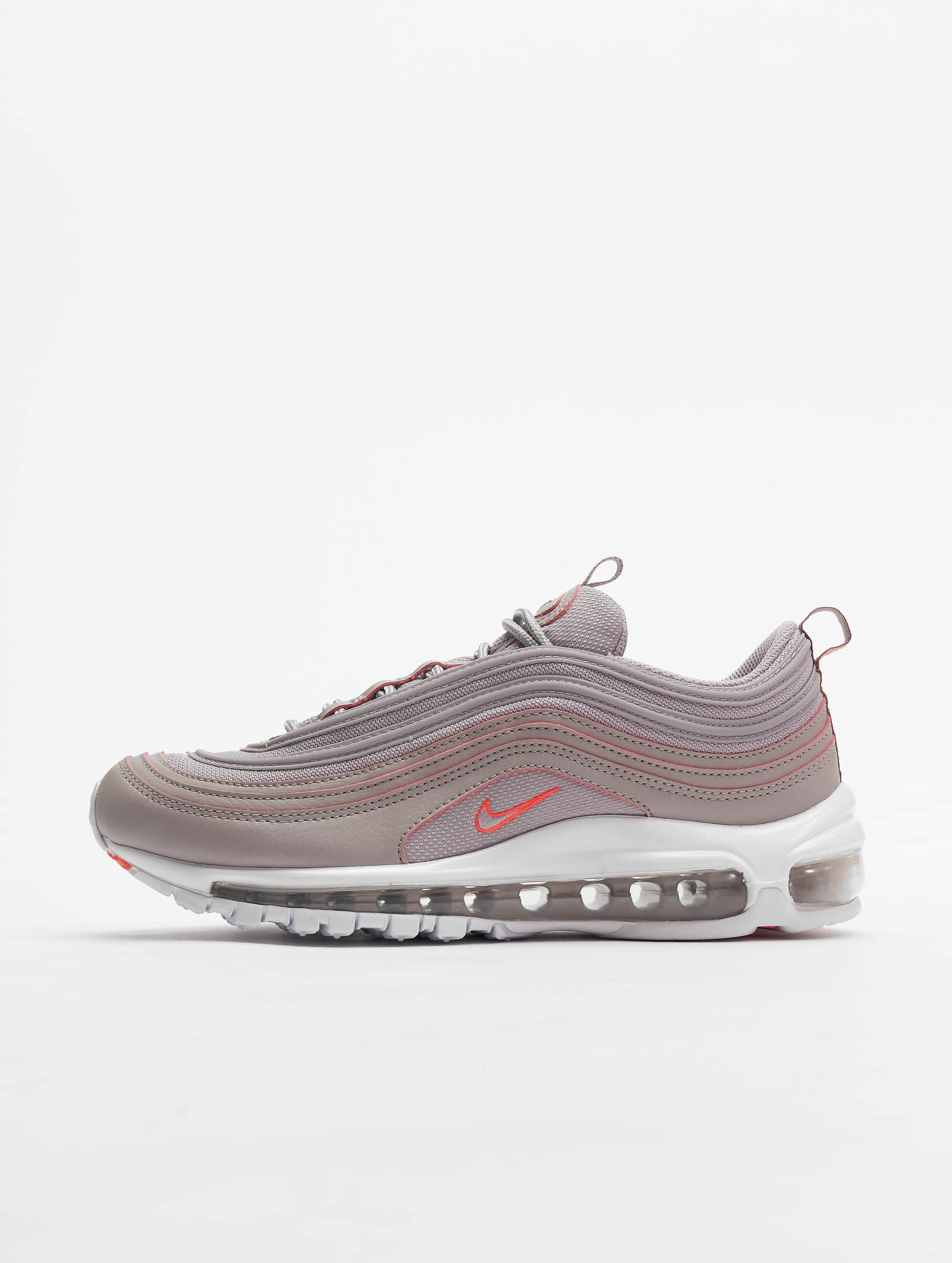 Nike Air Max 97 Se Sneakers Atmosphere GreyBright CrimsonWhite