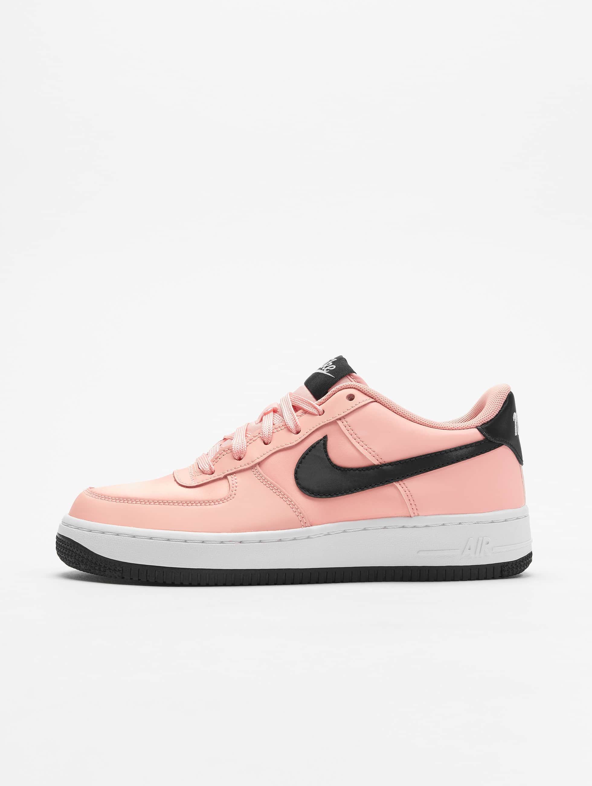 Nike Air Force 1 Vday (GS) Sneakers Bleached CoralBlackWhite