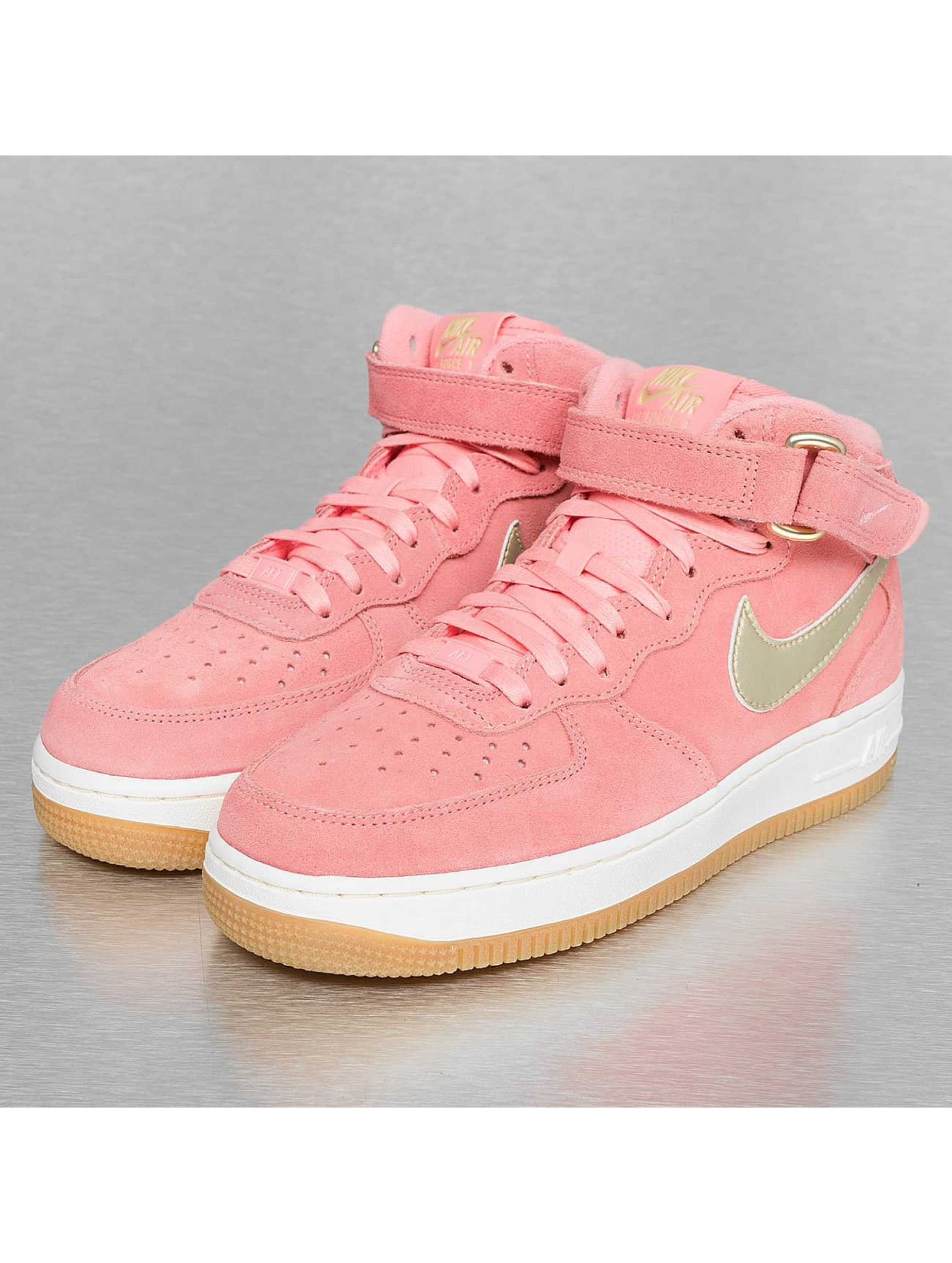 Sneaker WMNS Air Force 1'07 Mid Seasonal in rosa