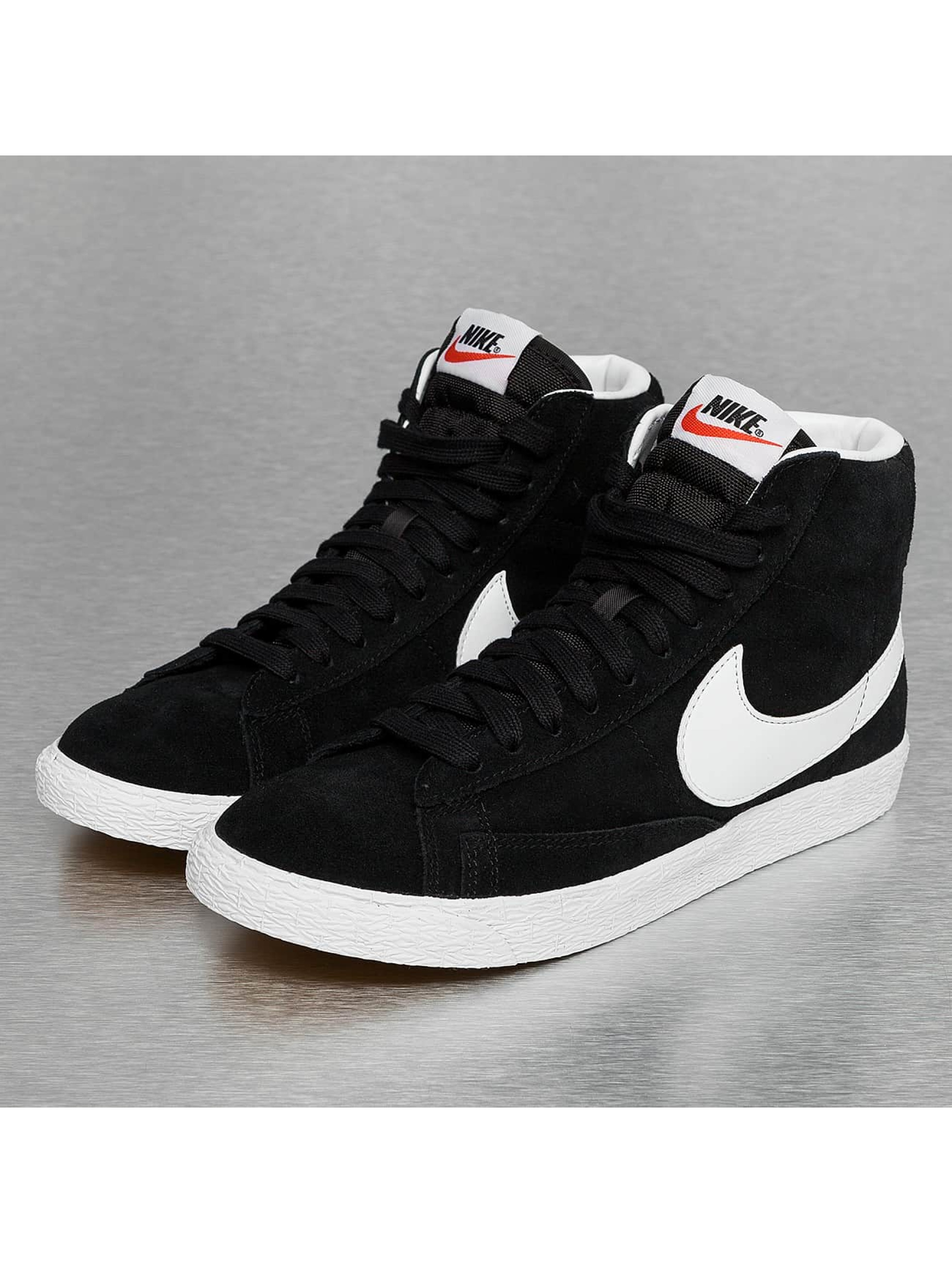 nike damen sneaker wmns blazer mid suede in schwarz 289578. Black Bedroom Furniture Sets. Home Design Ideas