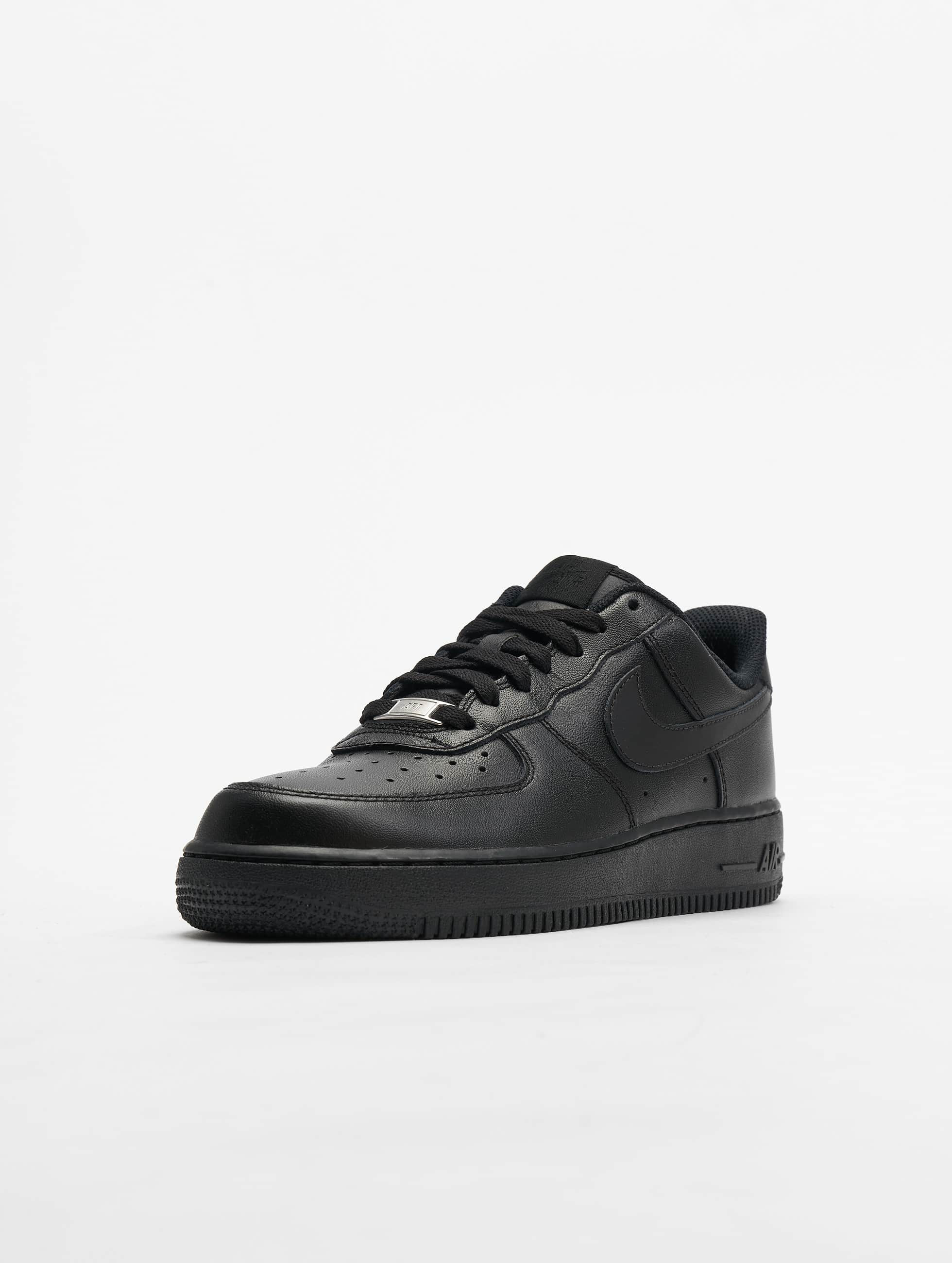 nike herren sneaker air force 1 39 07 basketball shoes in schwarz 34168. Black Bedroom Furniture Sets. Home Design Ideas